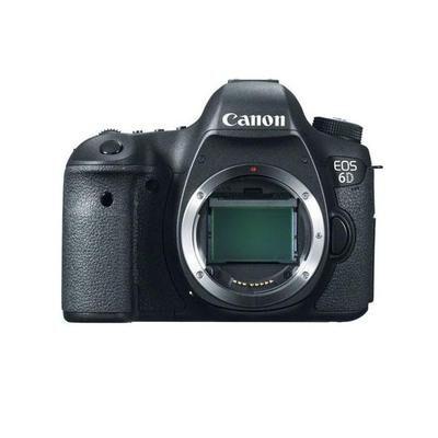 Canon EOS 6D Camera Body - 20.2 Megapixels, Full Frame CMOS Sensor