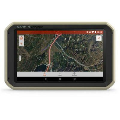 Garmin Overlander Rugged All-Terrain GPS Navigation System With Rechargeable Lithium-ion battery (01