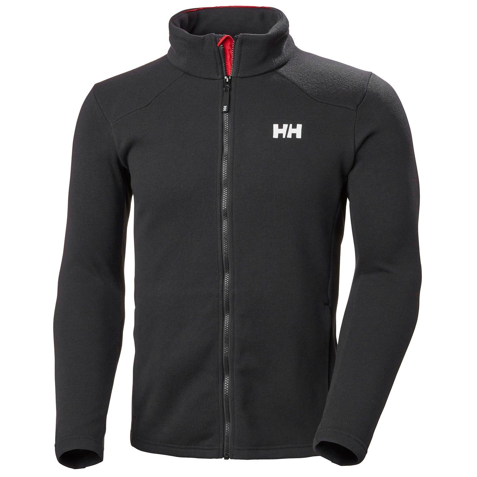 Helly Hansen Crew Midlayer Fleece Jacket Mens Yellow S