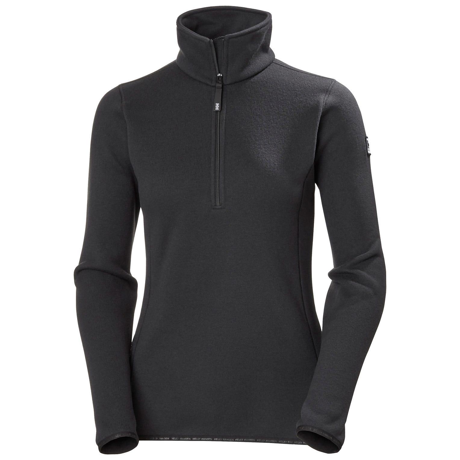 Helly Hansen W Crew 1/2 Zip Fleece Jacket Womens Midlayer Yellow XL