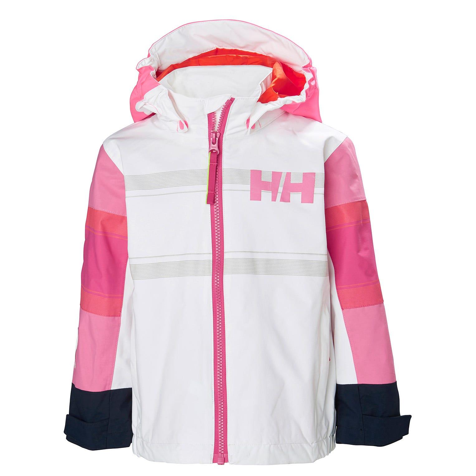 Helly Hansen Kids Salt Coast Jacket White 110/5