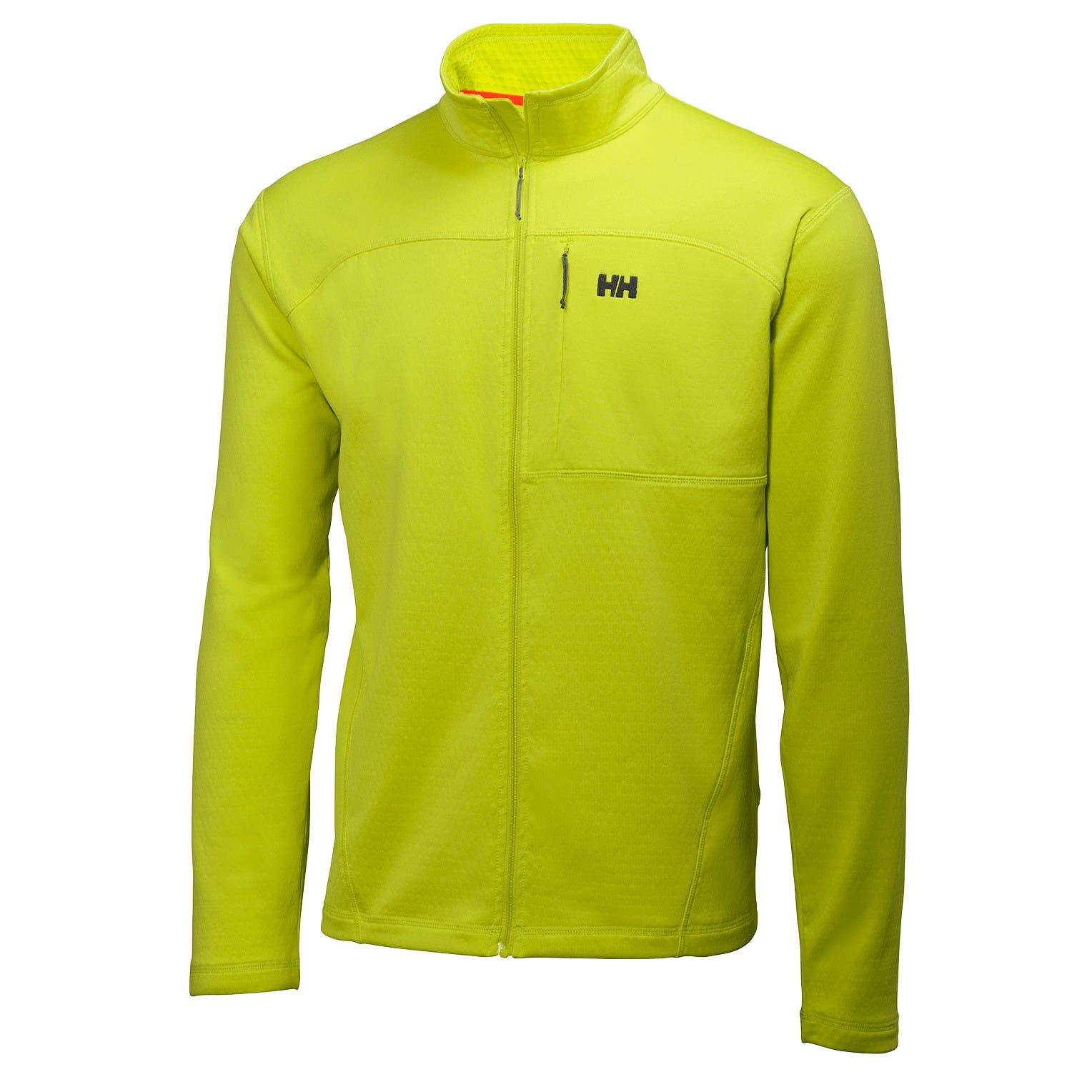 Helly Hansen Vertex Stretch Midlayer Fleece Yellow