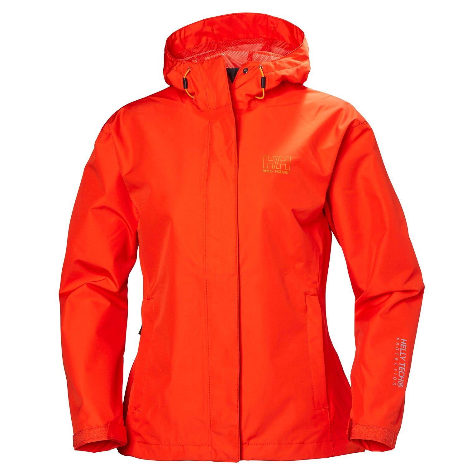 Helly Hansen W Seven J Jacket Womens Rain Pink XS