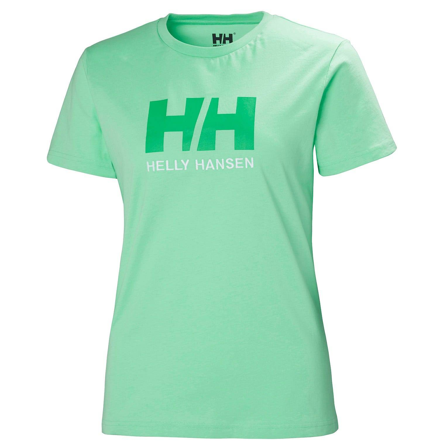 Helly Hansen W Logo Tshirt Womens Green XS