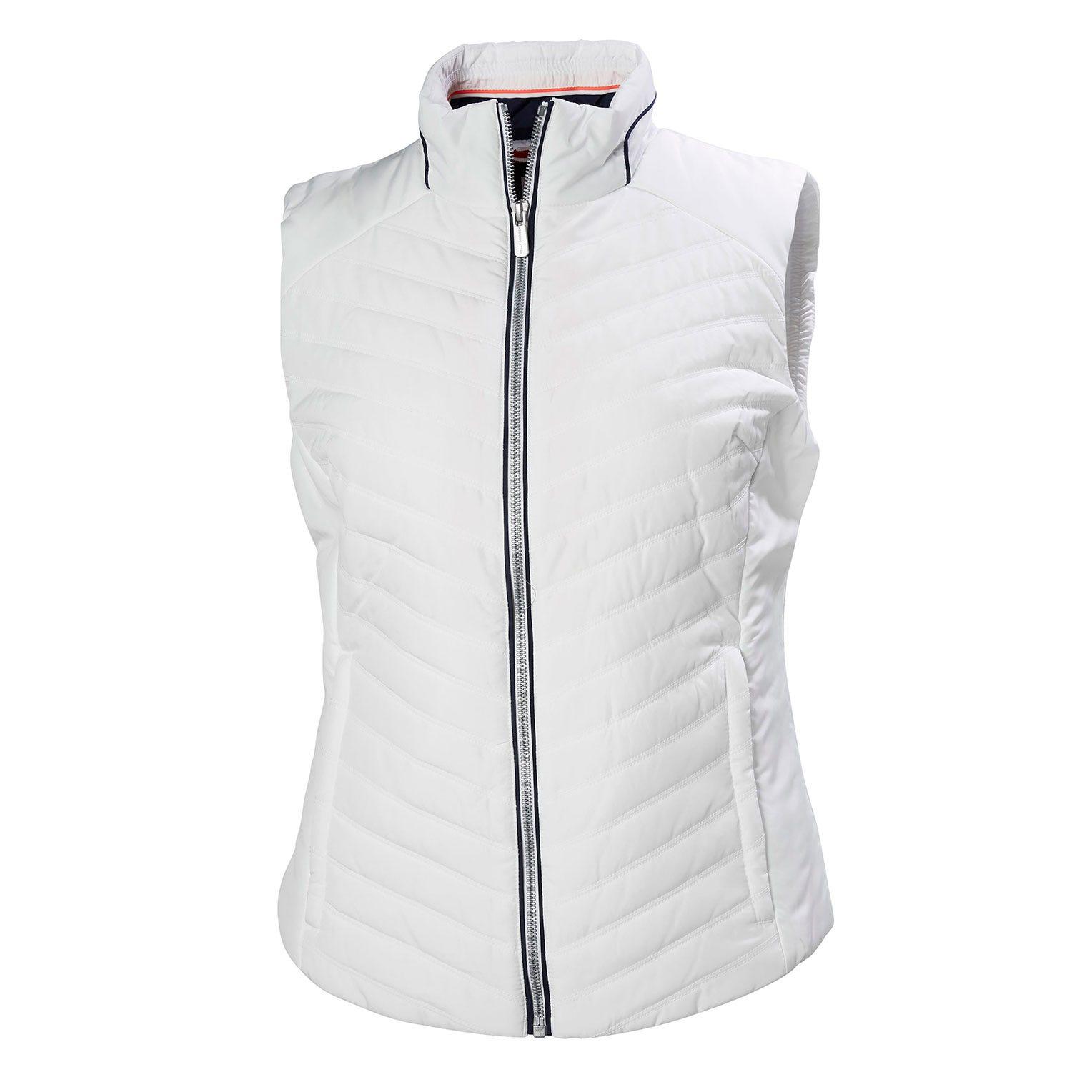 Helly Hansen W Crew Insulator Vest Womens White XS