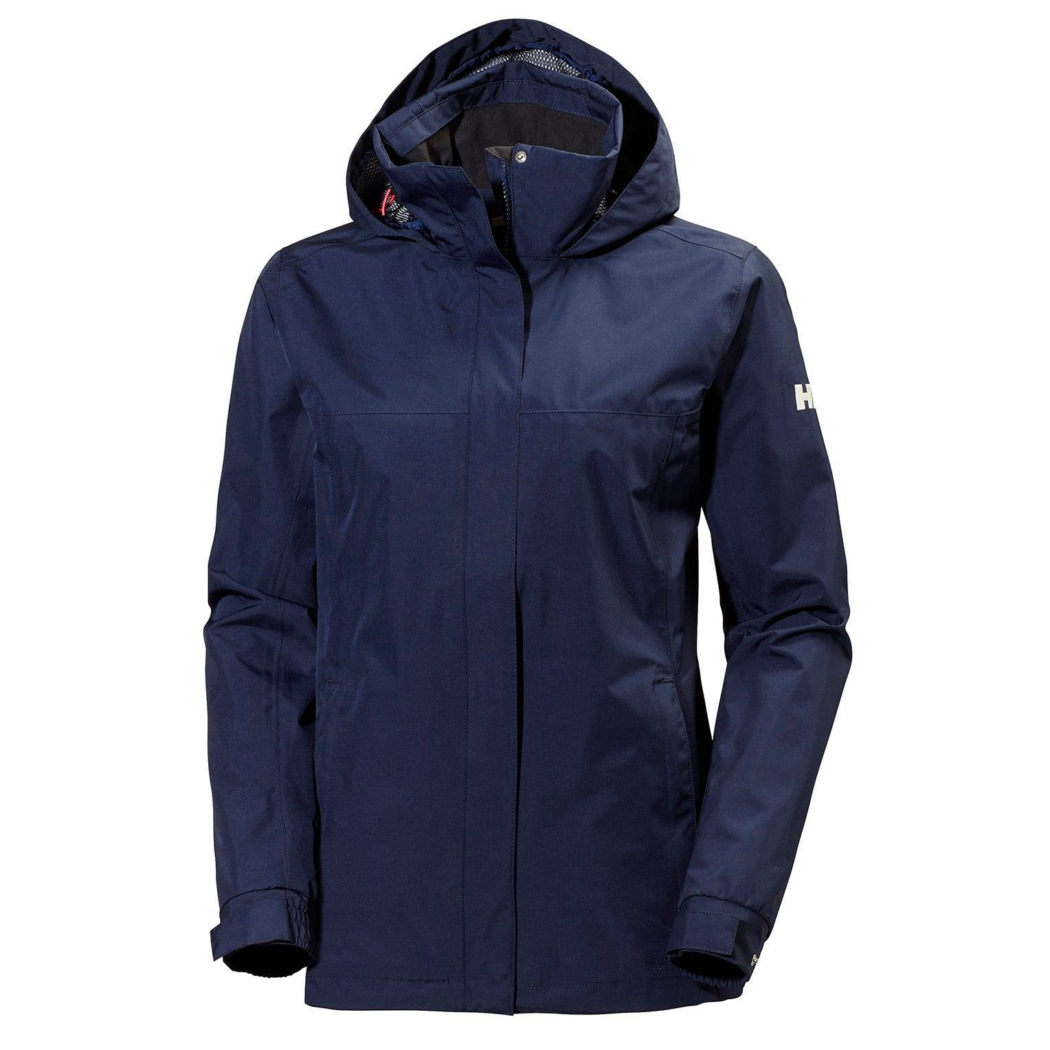 Helly Hansen W Aden Jacket Womens Rain Navy M