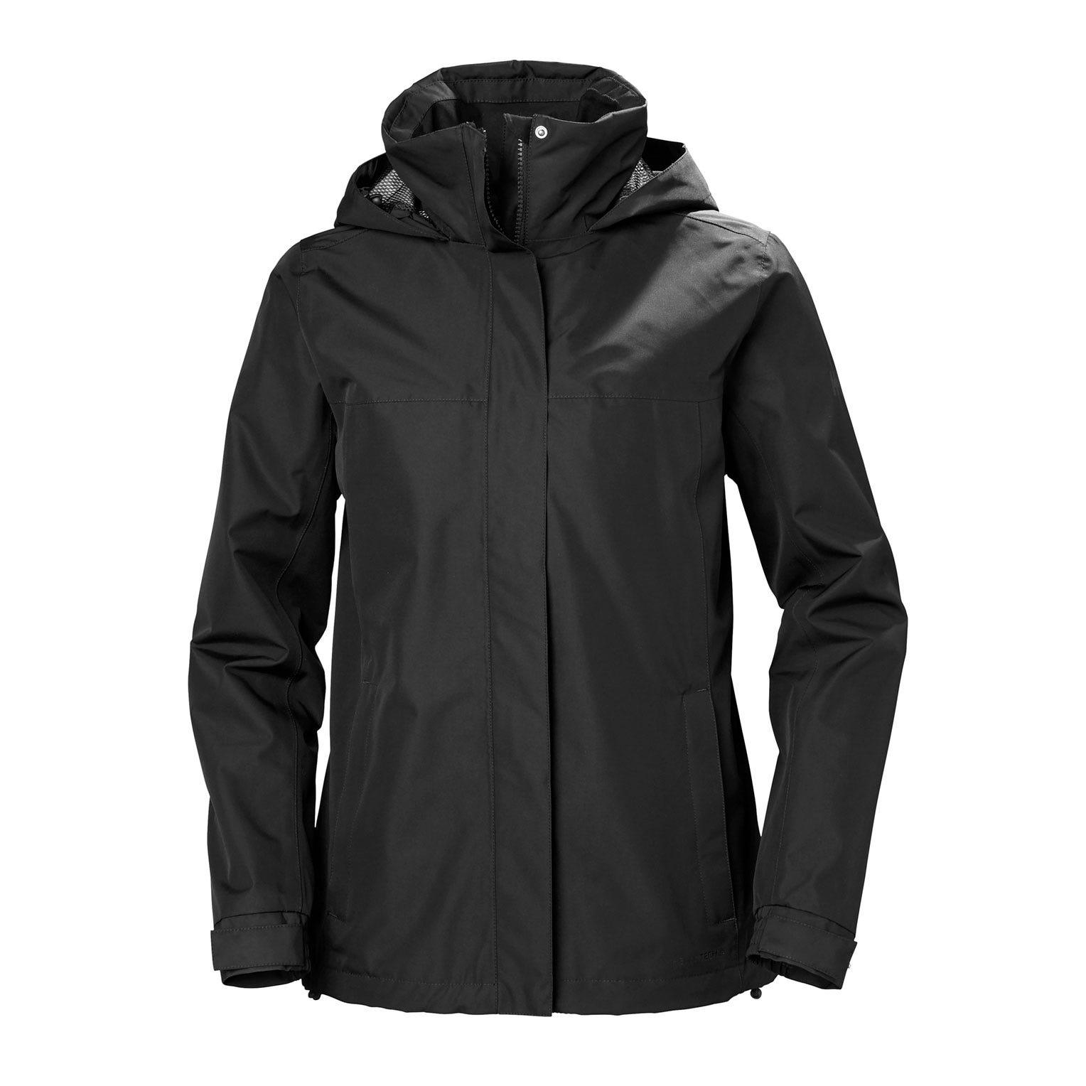 Helly Hansen W Aden Jacket Womens Rain Black M