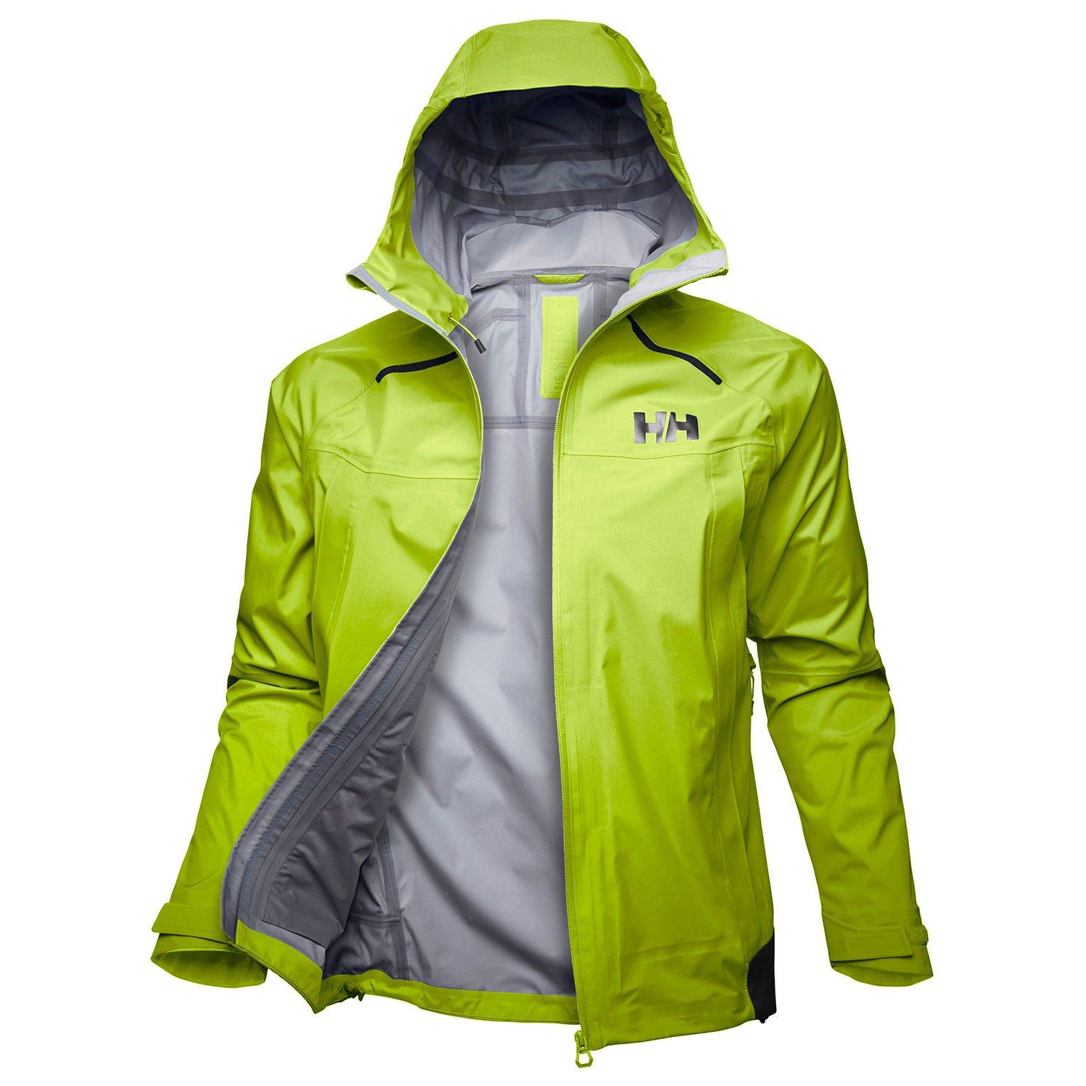 Helly Hansen Odin 9 Worlds Jacket Mens Hiking Yellow XXL