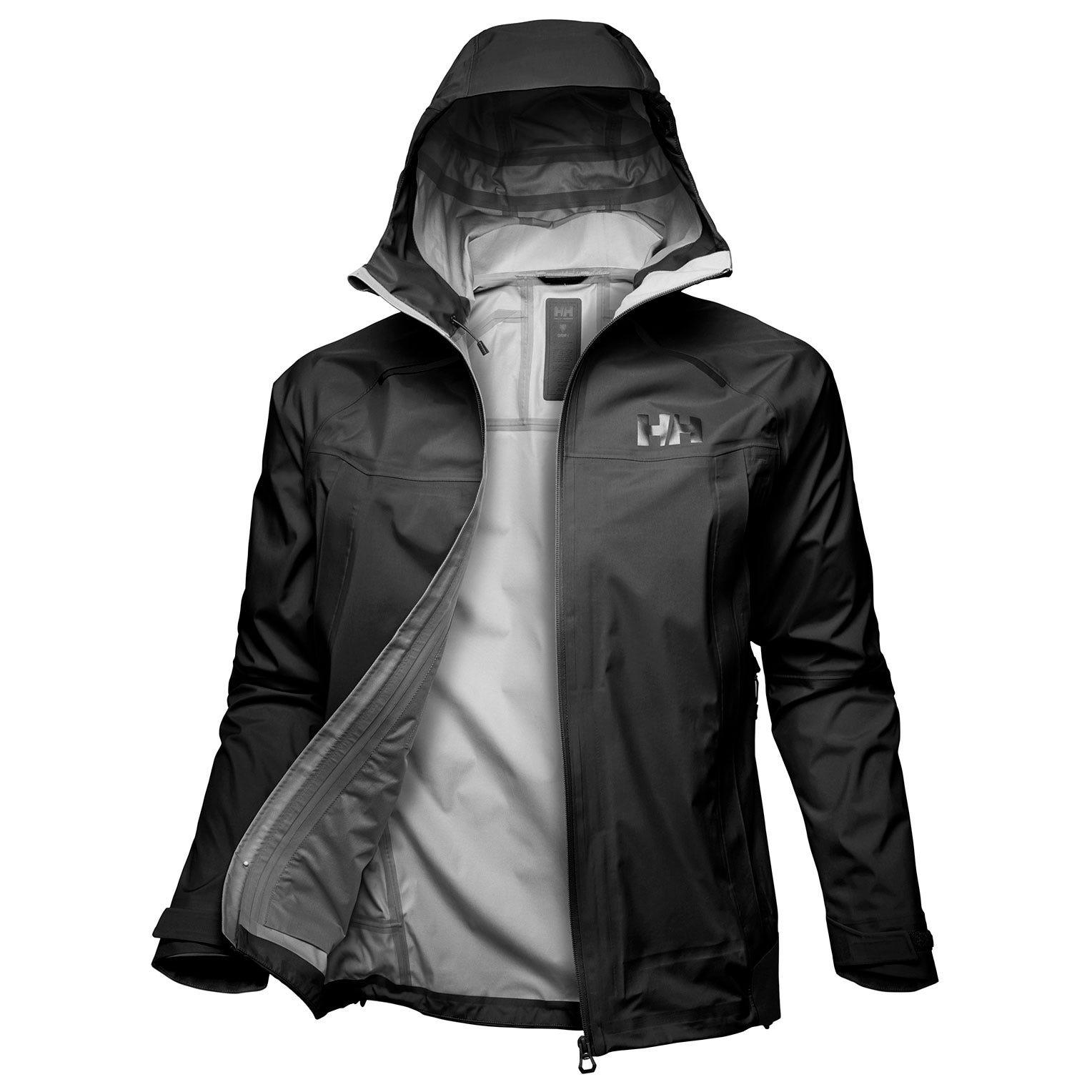 Helly Hansen Odin 9 Worlds Jacket Mens Hiking Black XXL