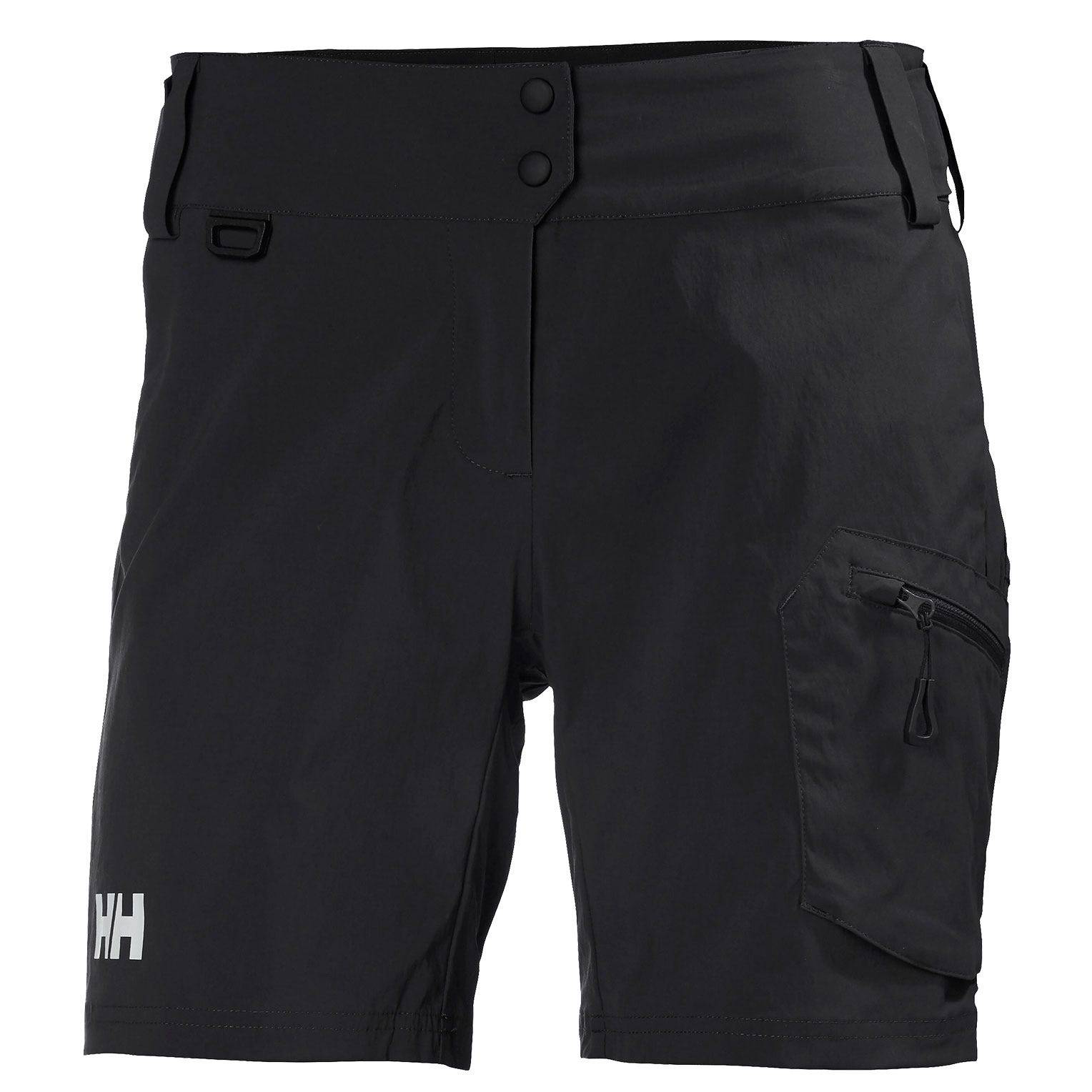 Helly Hansen W Crew Dynamic Shorts Womens Sailing Pant Black 29