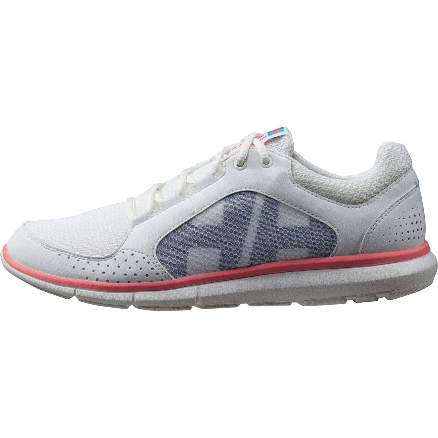 Helly Hansen W Ahiga V3 Hydropower Womens Sailing Shoe White 37/6
