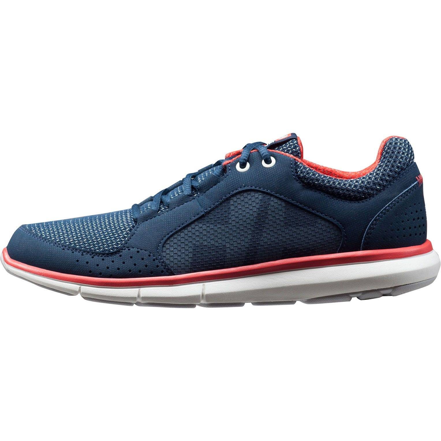 Helly Hansen W Ahiga V3 Hydropower Womens Sailing Shoe Navy 37/6