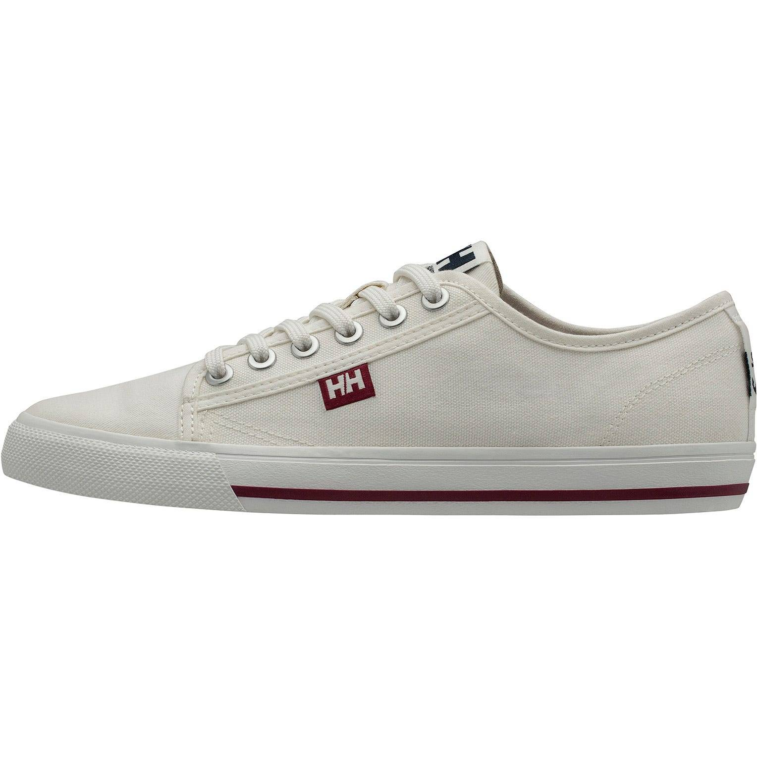 Helly Hansen W Fjord Canvas Shoe V2 Womens Casual White 40/8.5