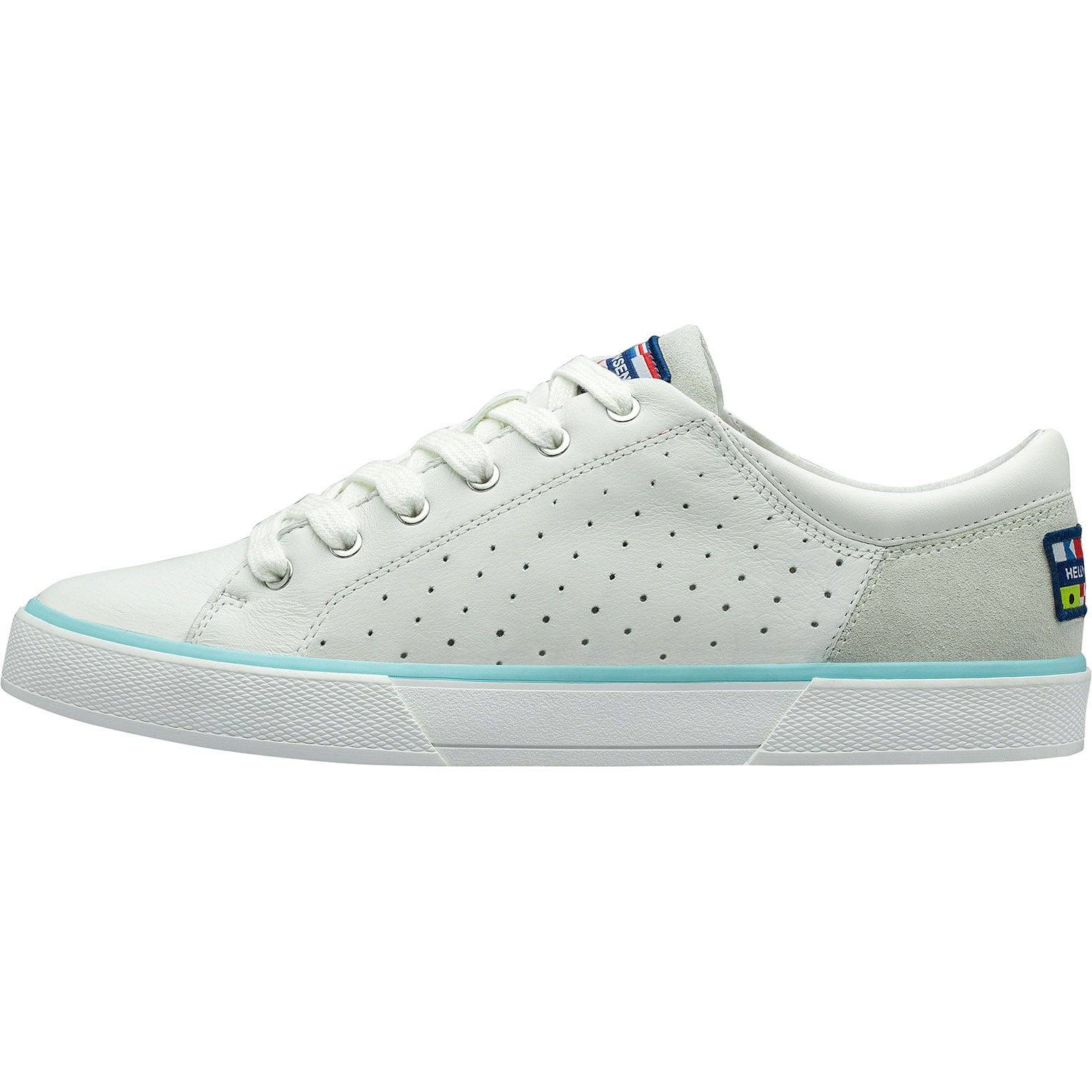 Helly Hansen W Copenhagen Leather Shoe Womens Casual White 41/9.5