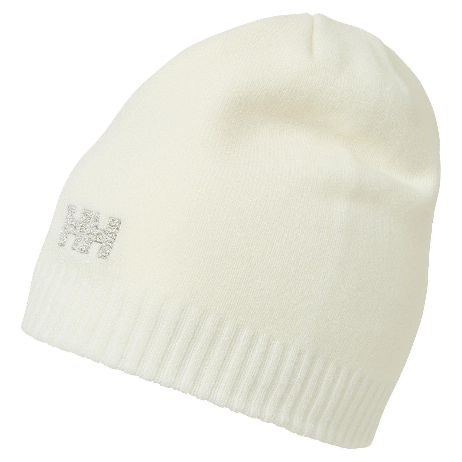 Helly Hansen Brand Beanie White STD