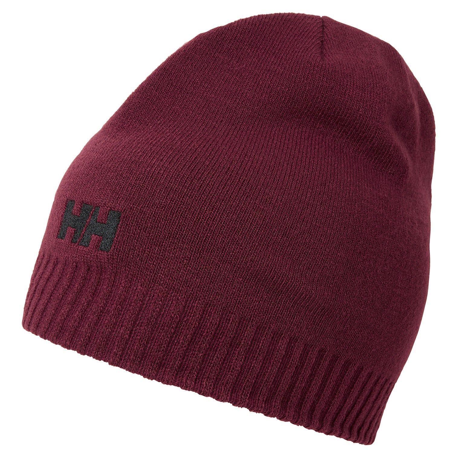 Helly Hansen Brand Beanie Purple STD