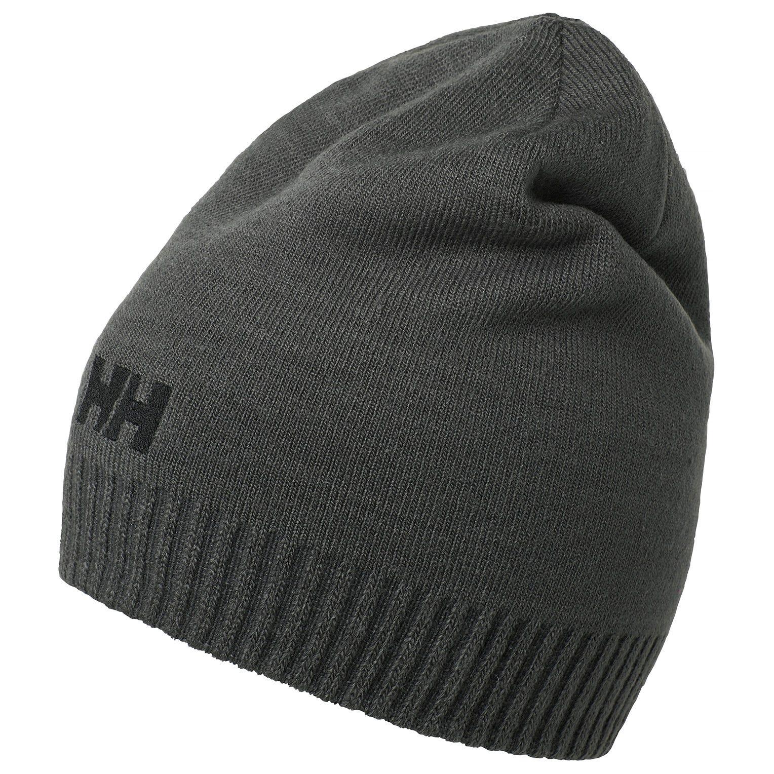 Helly Hansen Brand Beanie Grey STD