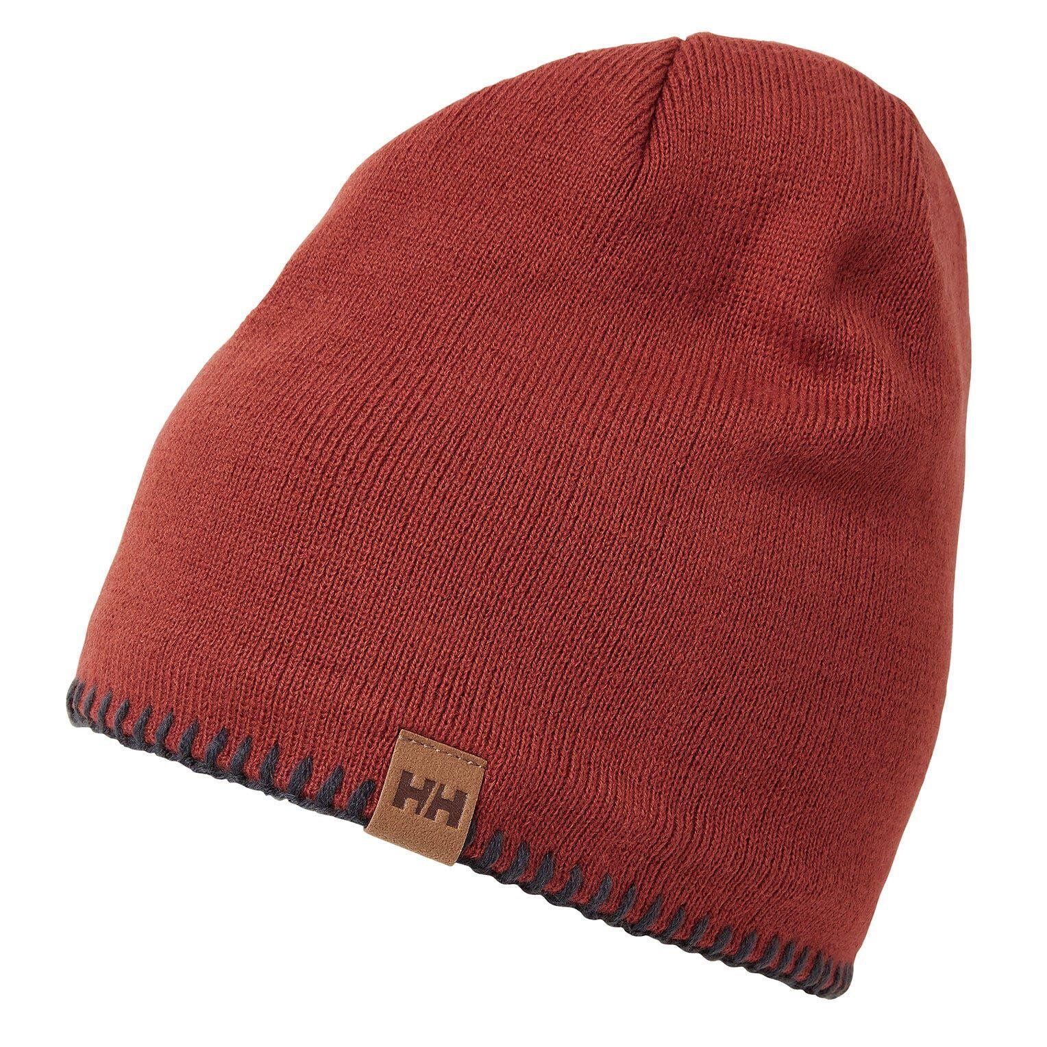 Helly Hansen Mountain Beanie Fleece Lined Red STD