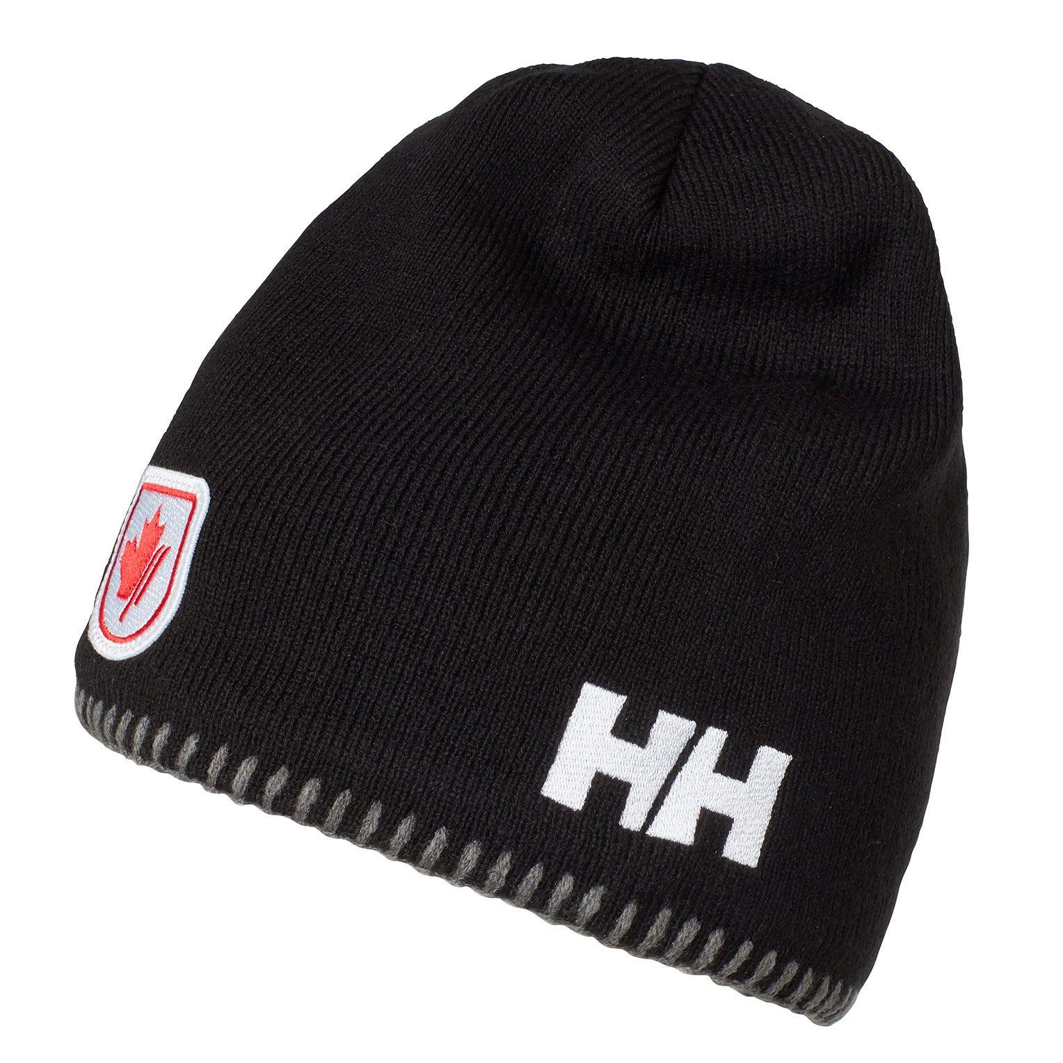 Helly Hansen Mountain Beanie Fleece Lined Black STD