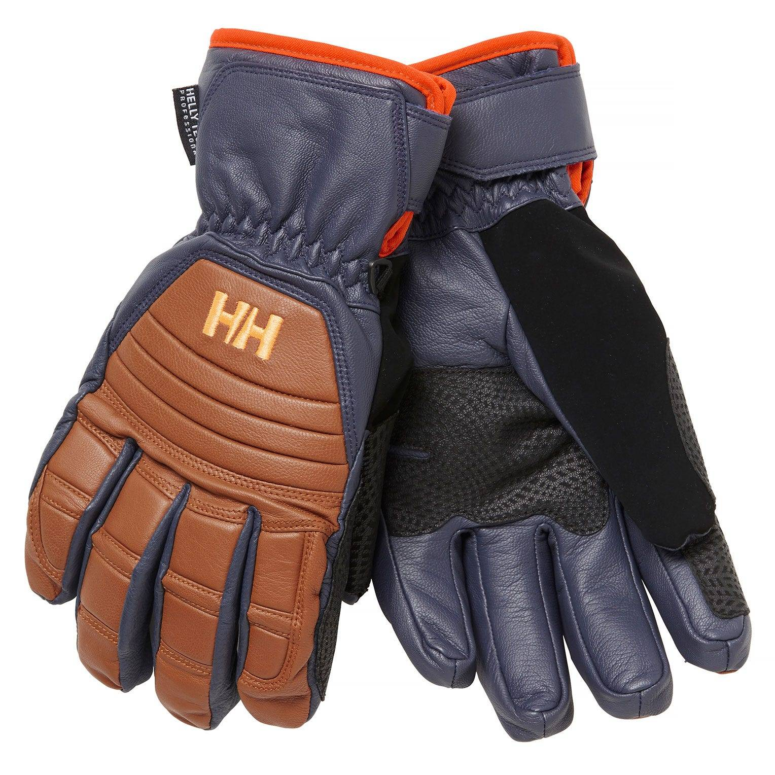 Helly Hansen Ullr Leather Ht Glove Mens Brown S