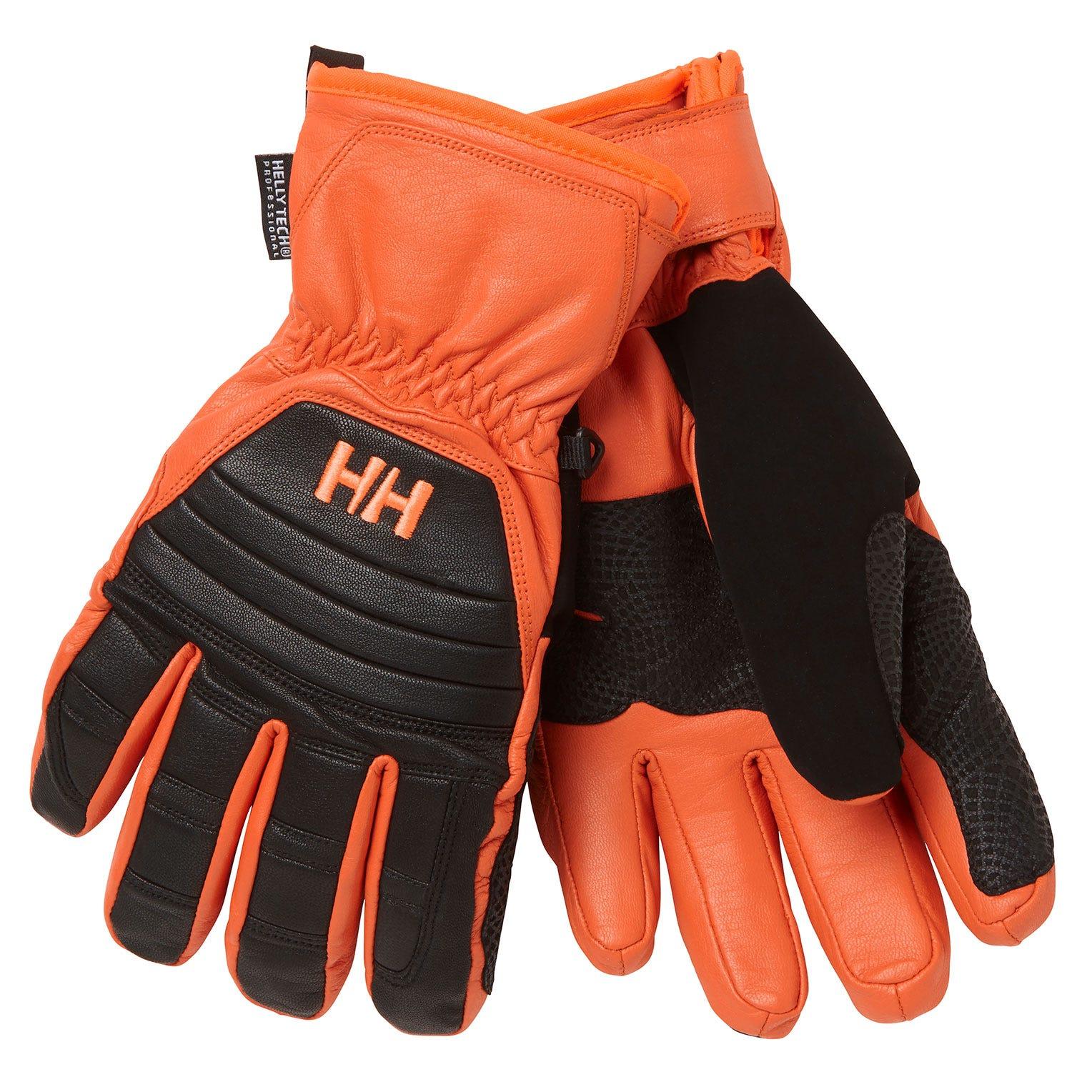 Helly Hansen Ullr Leather Ht Glove Mens Black S
