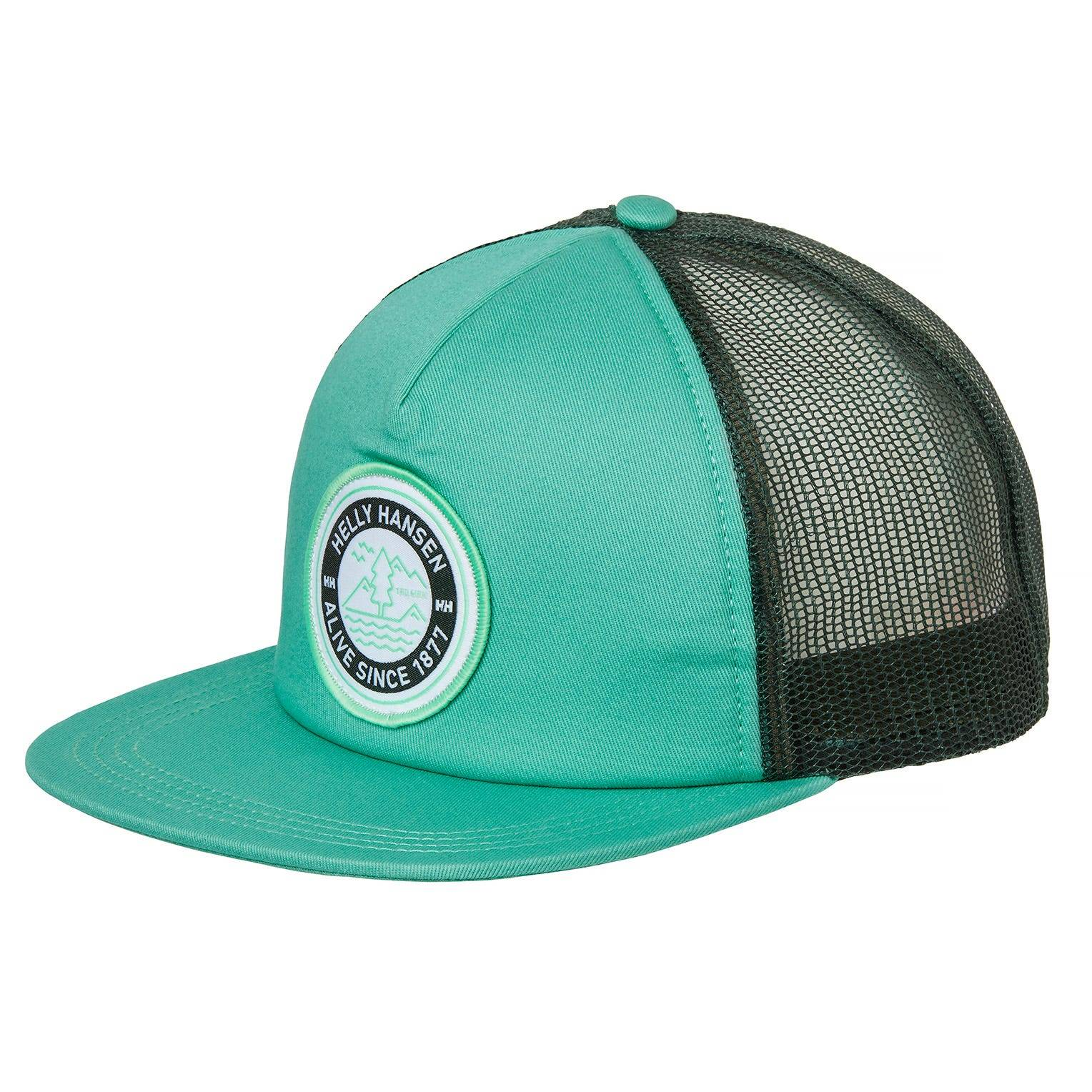 Helly Hansen Flatbrim Trucker Cap Green STD