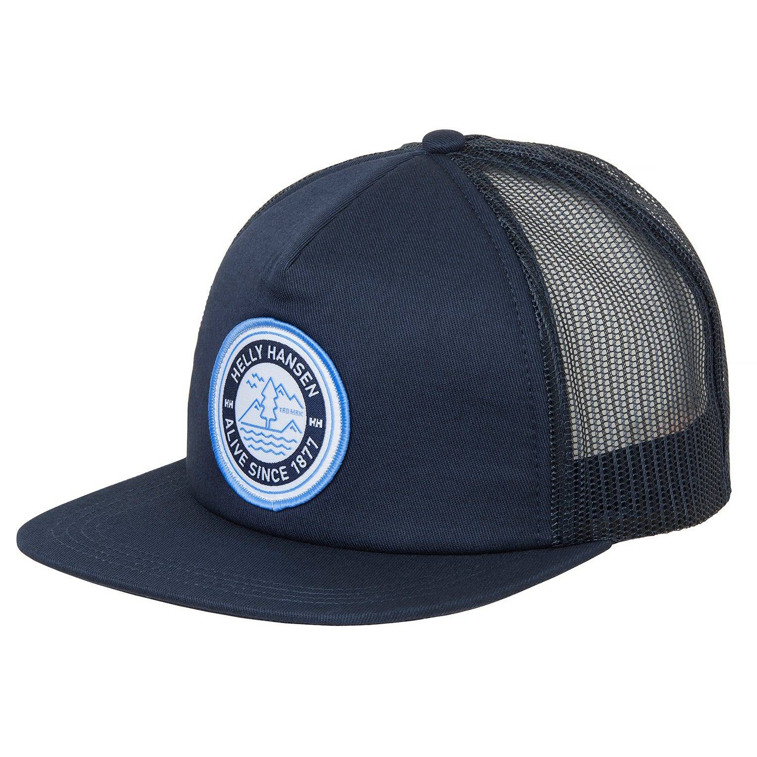 Helly Hansen Flatbrim Trucker Cap Blue STD