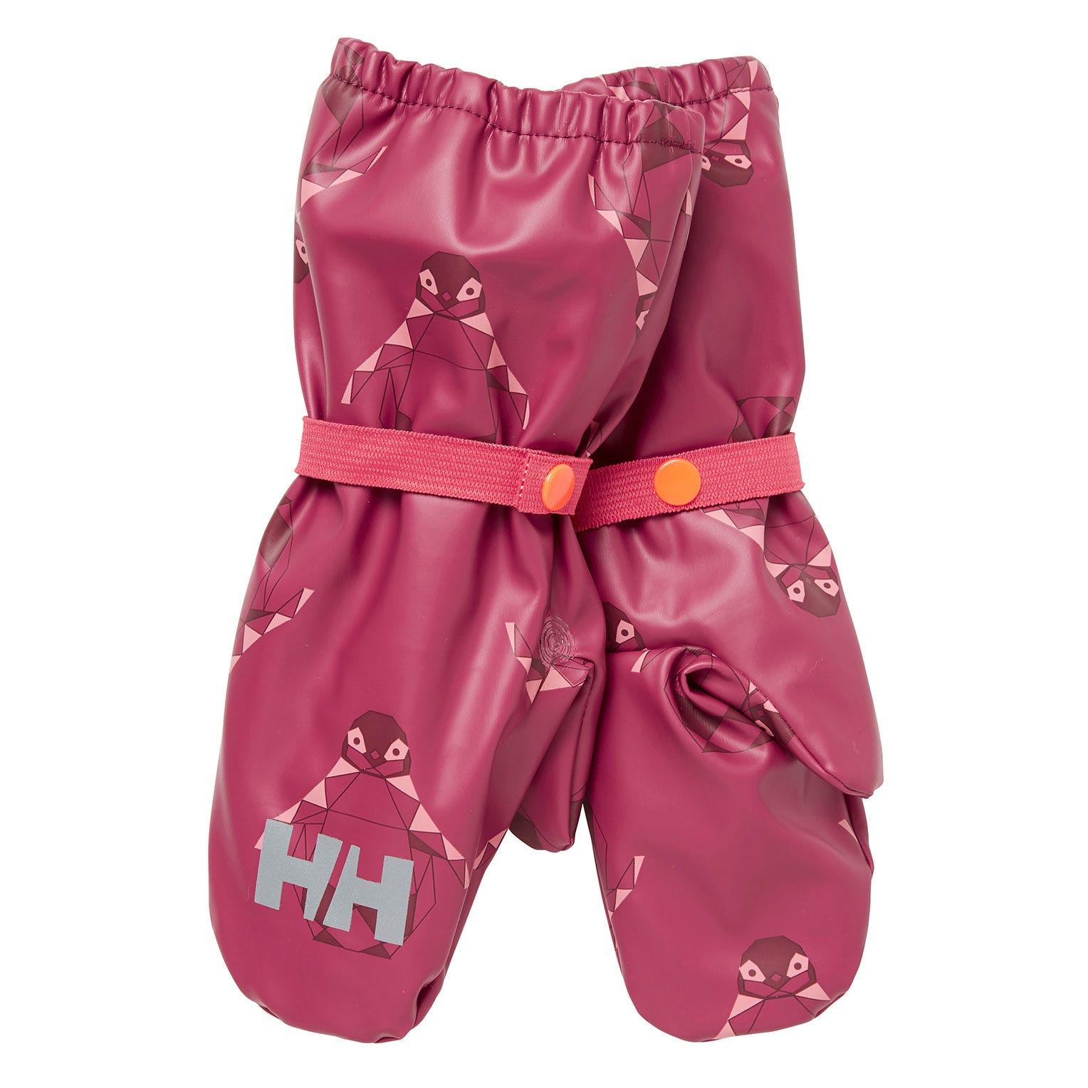 Helly Hansen Kids Bergen Fleece Pu Mittens Pink 4