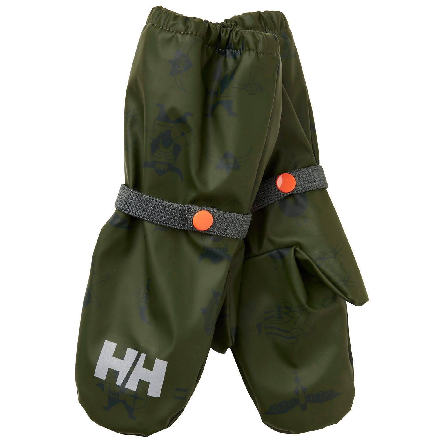 Helly Hansen Kids Bergen Fleece Pu Mittens Green 2