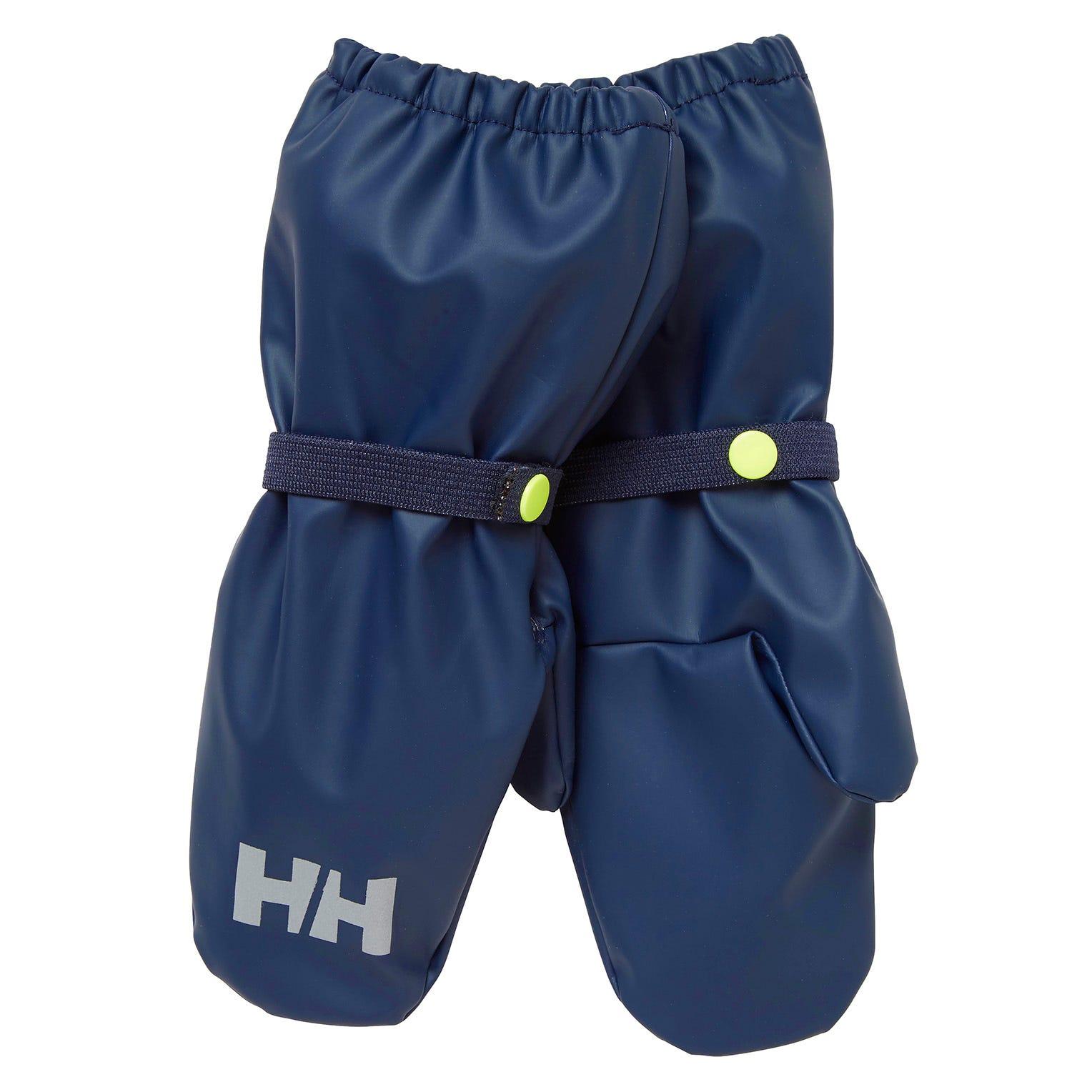 Helly Hansen Kids Bergen Fleece Pu Mittens Blue 5