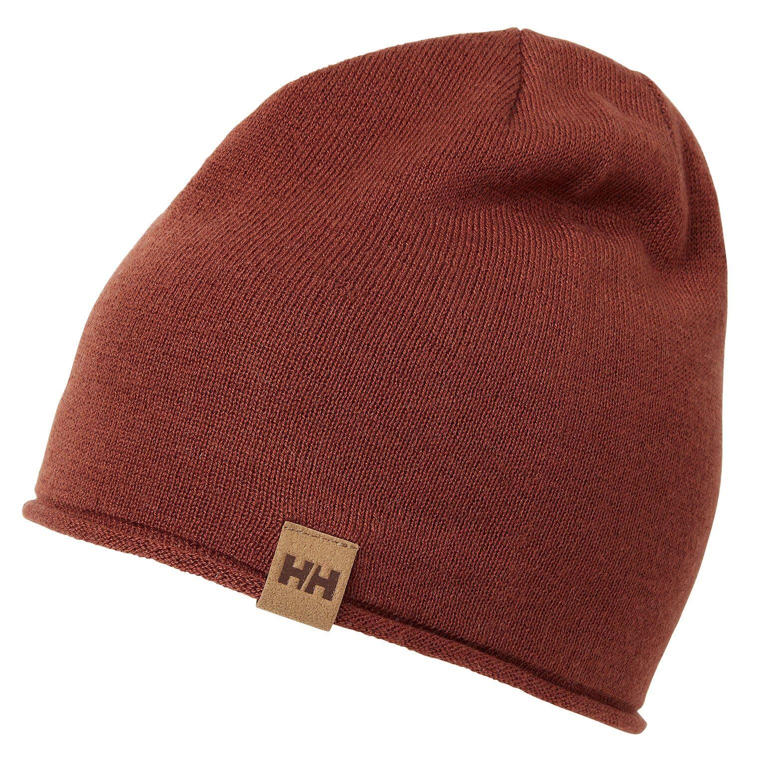 Helly Hansen Mtn Merino Wool Beanie Red STD