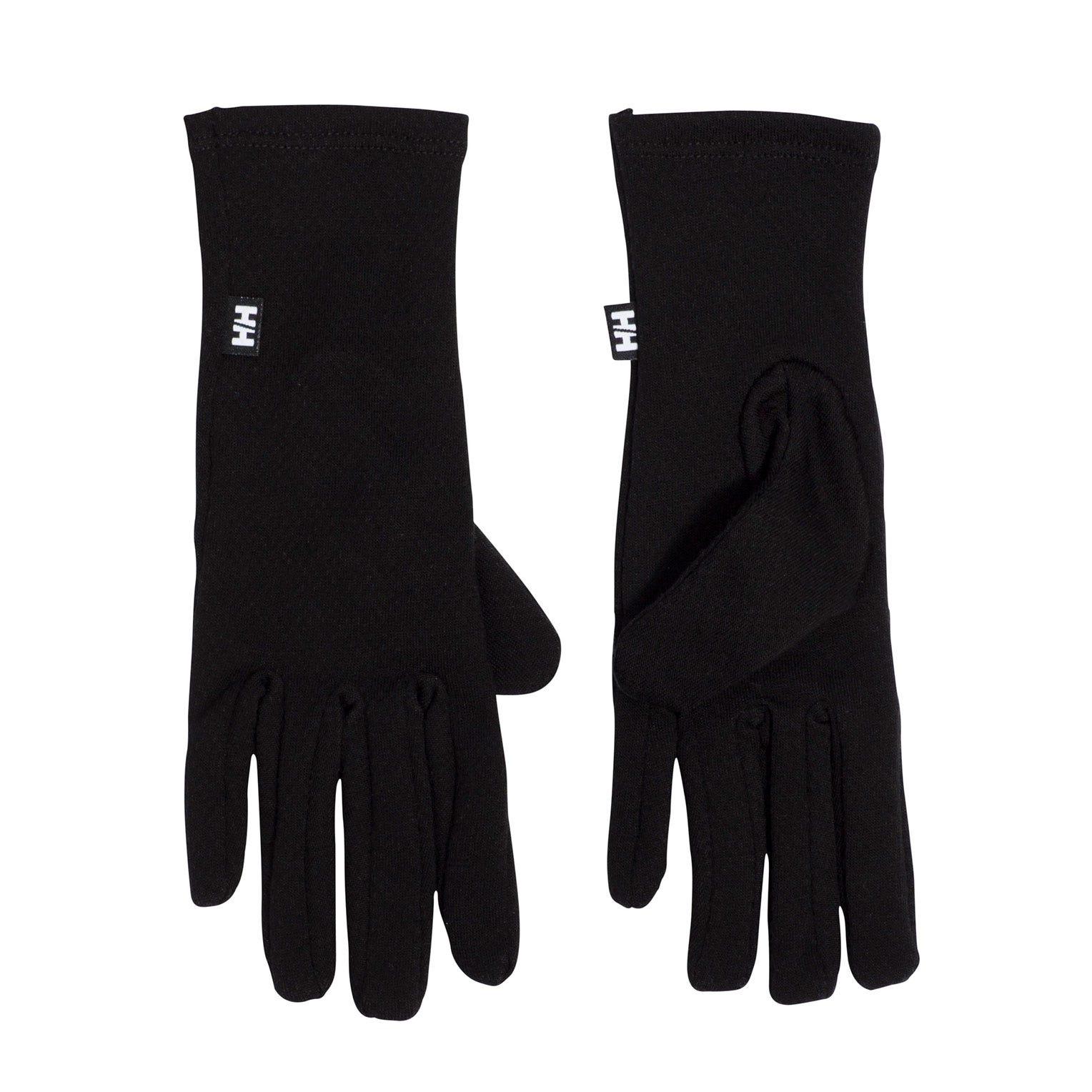 Helly Hansen Warm Glove Liner Baselayer Black L