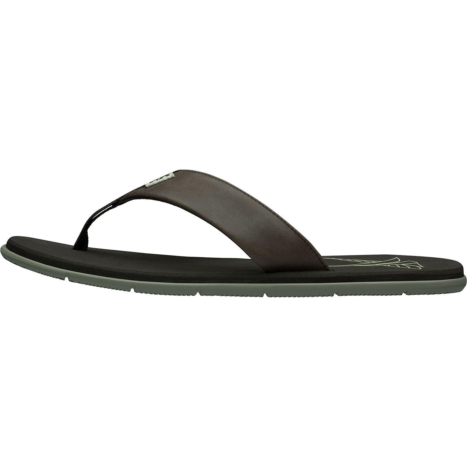 Helly Hansen Seasand Leather Sandal Mens Brown 46.5/12