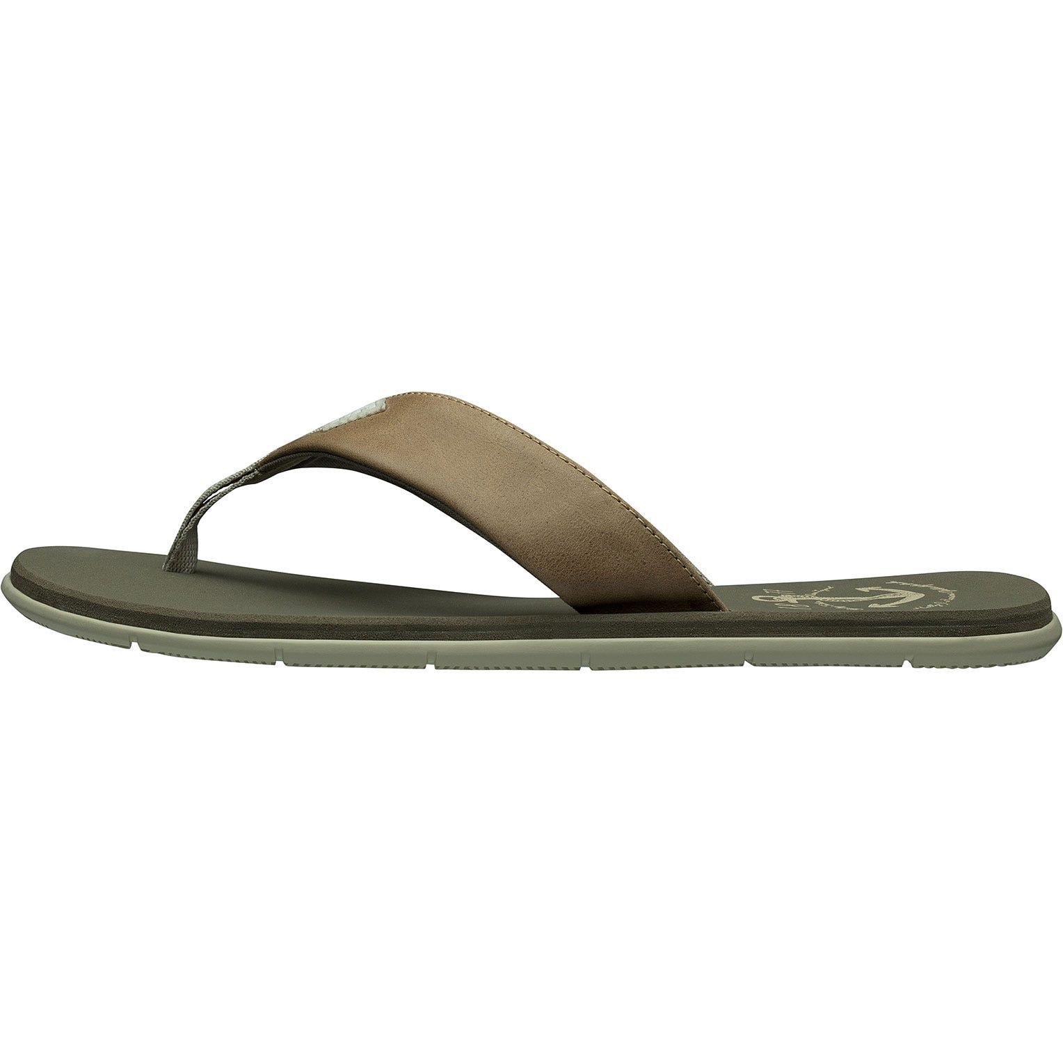 Helly Hansen Seasand Leather Sandal Mens Beige 41/8