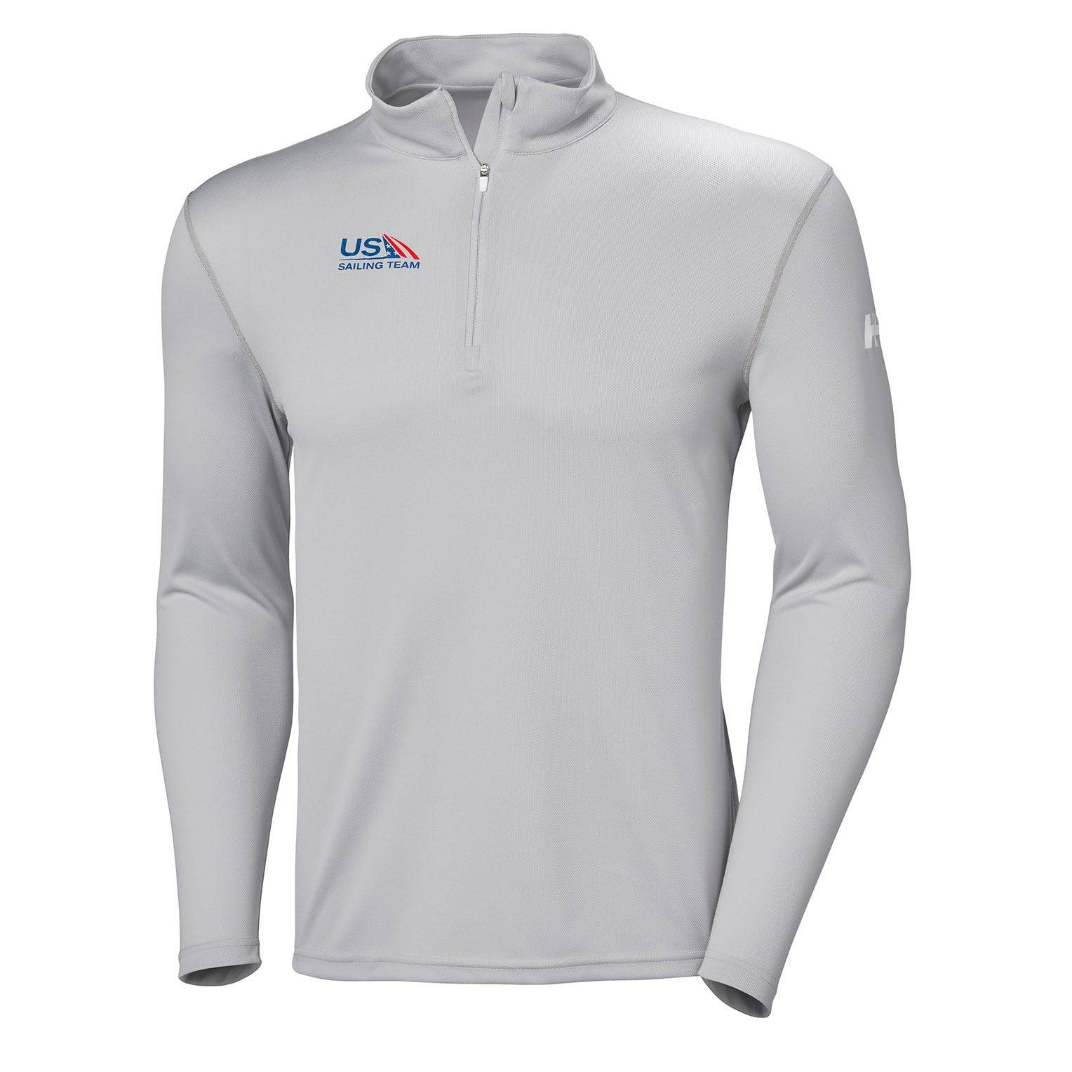 Helly Hansen Tech 1/2 Zip Us Sailing Team Mens Baselayer White S