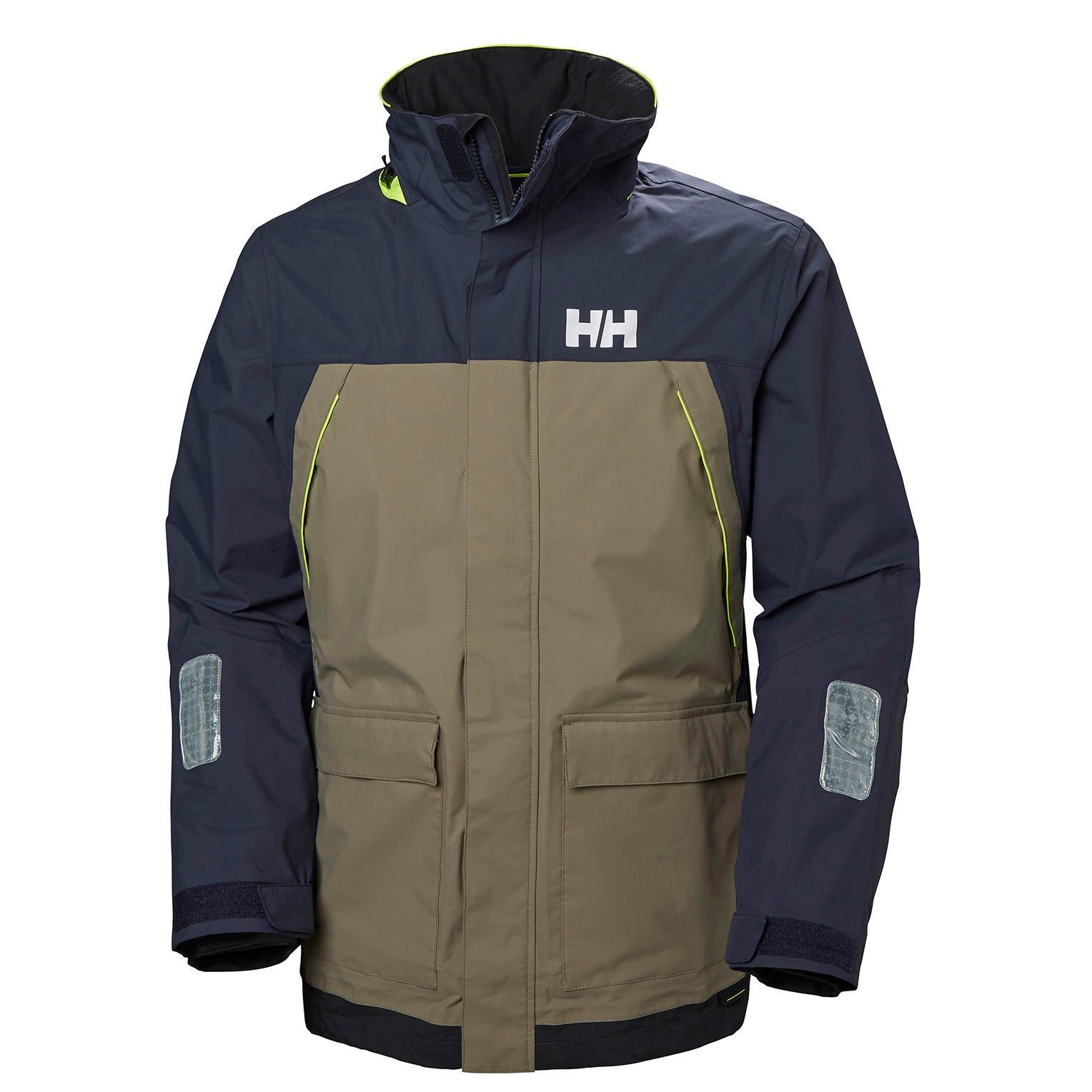 Helly Hansen Pier Jacket Mens Sailing Beige XL