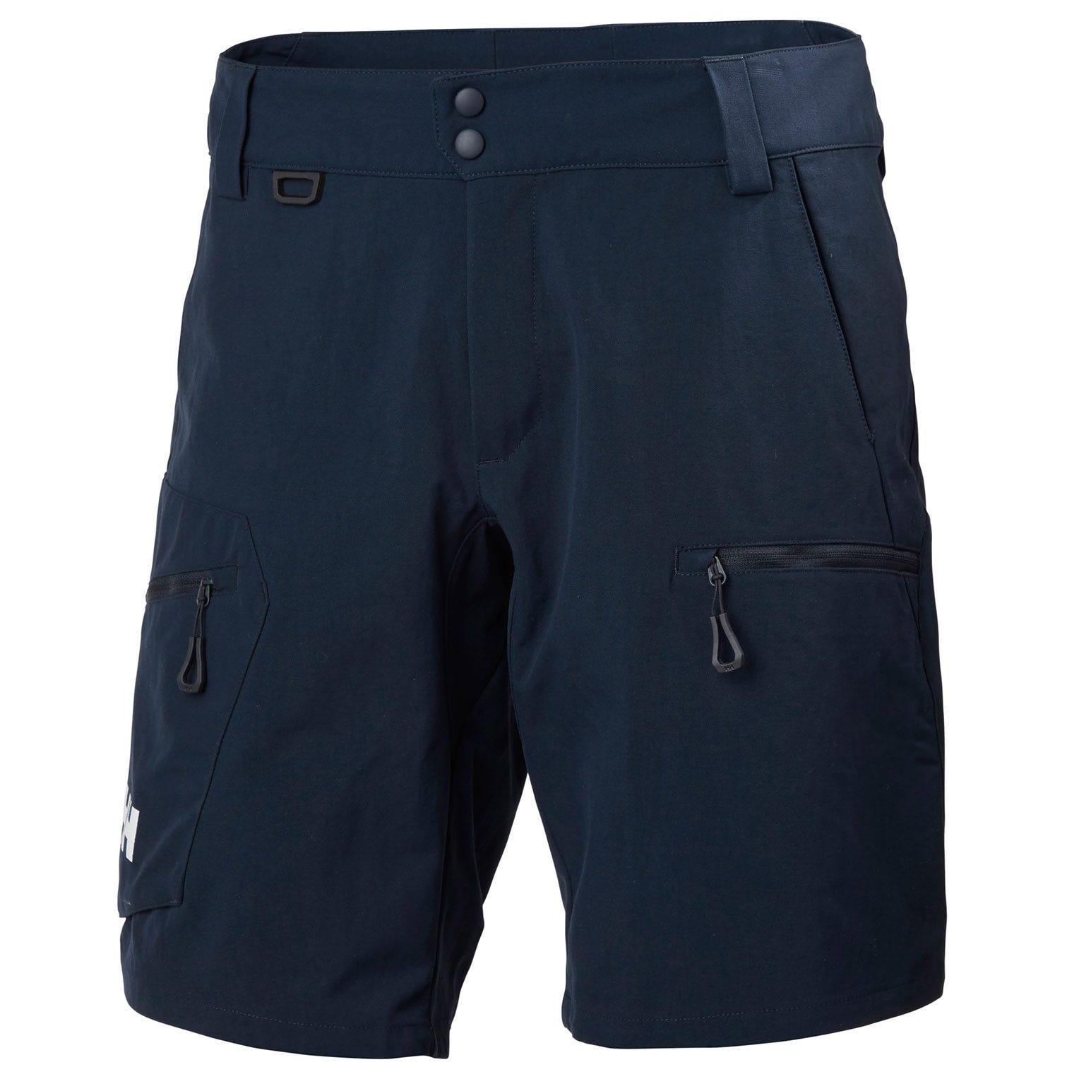 Helly Hansen Crewline Cargo Shorts Mens Sailing Pant Navy 28