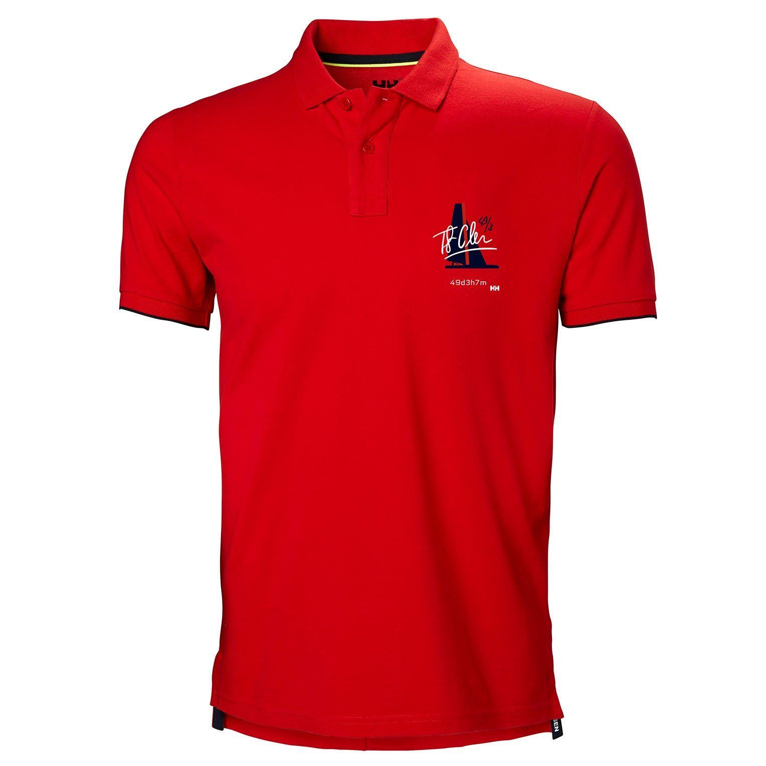 Helly Hansen Hp Club2 Polo Mens Red XXL