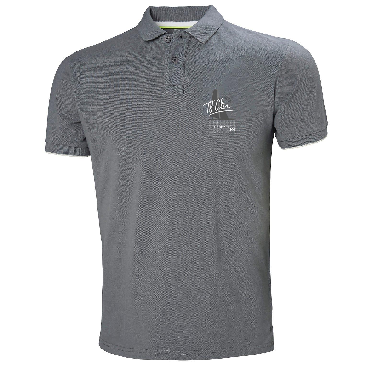 Helly Hansen Hp Club2 Polo Mens Grey XXL