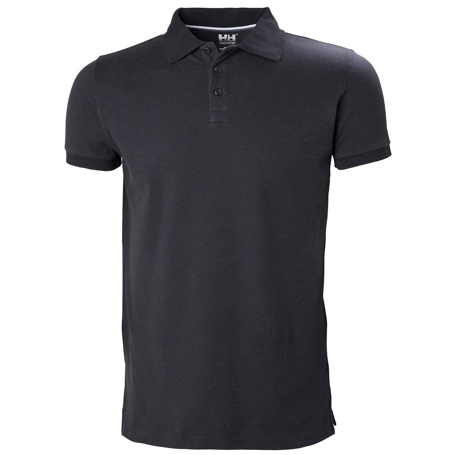 Helly Hansen Crew Polo Mens Performance Wicking Navy M