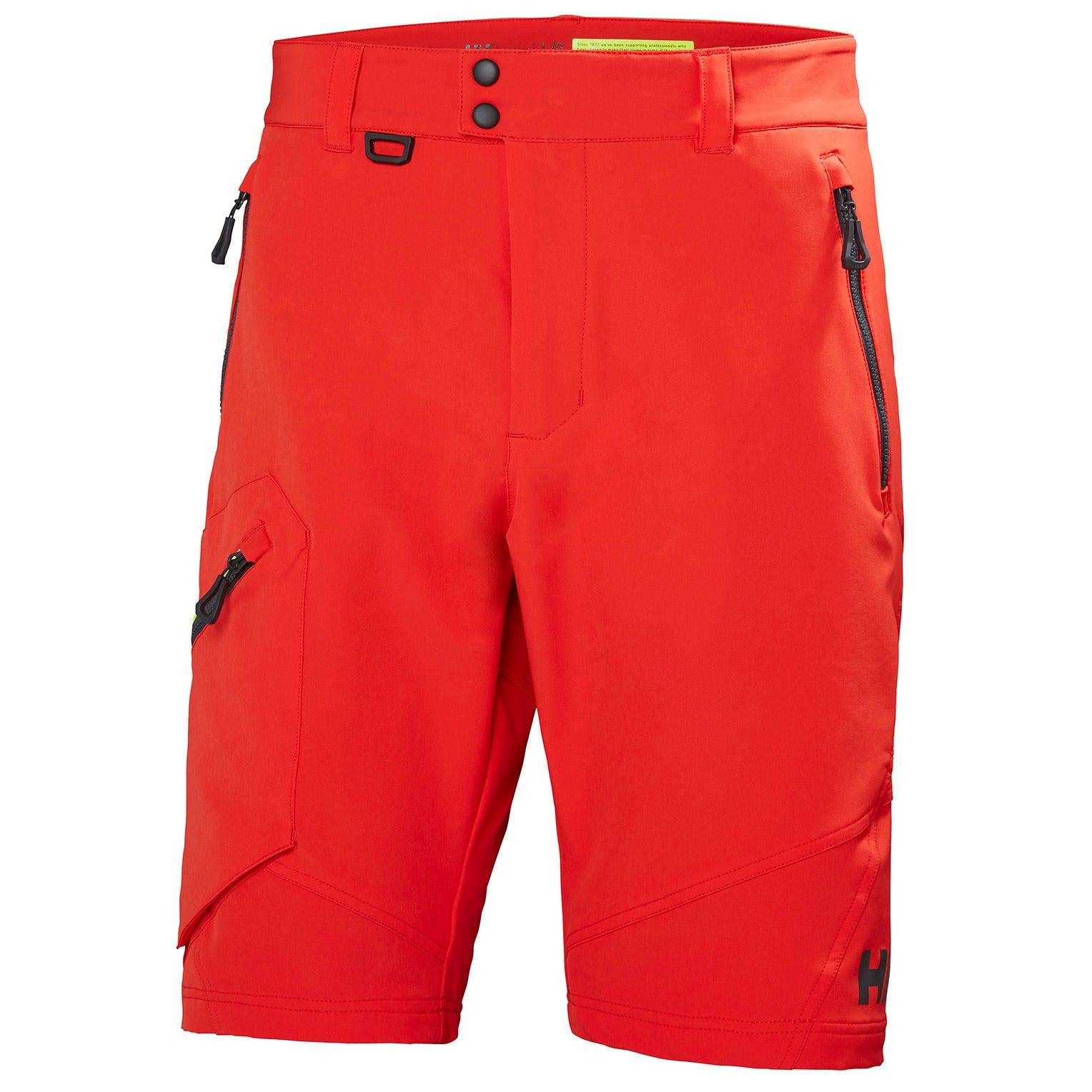 Helly Hansen Hp Softshell Shorts Mens Sailing Pant Red XL