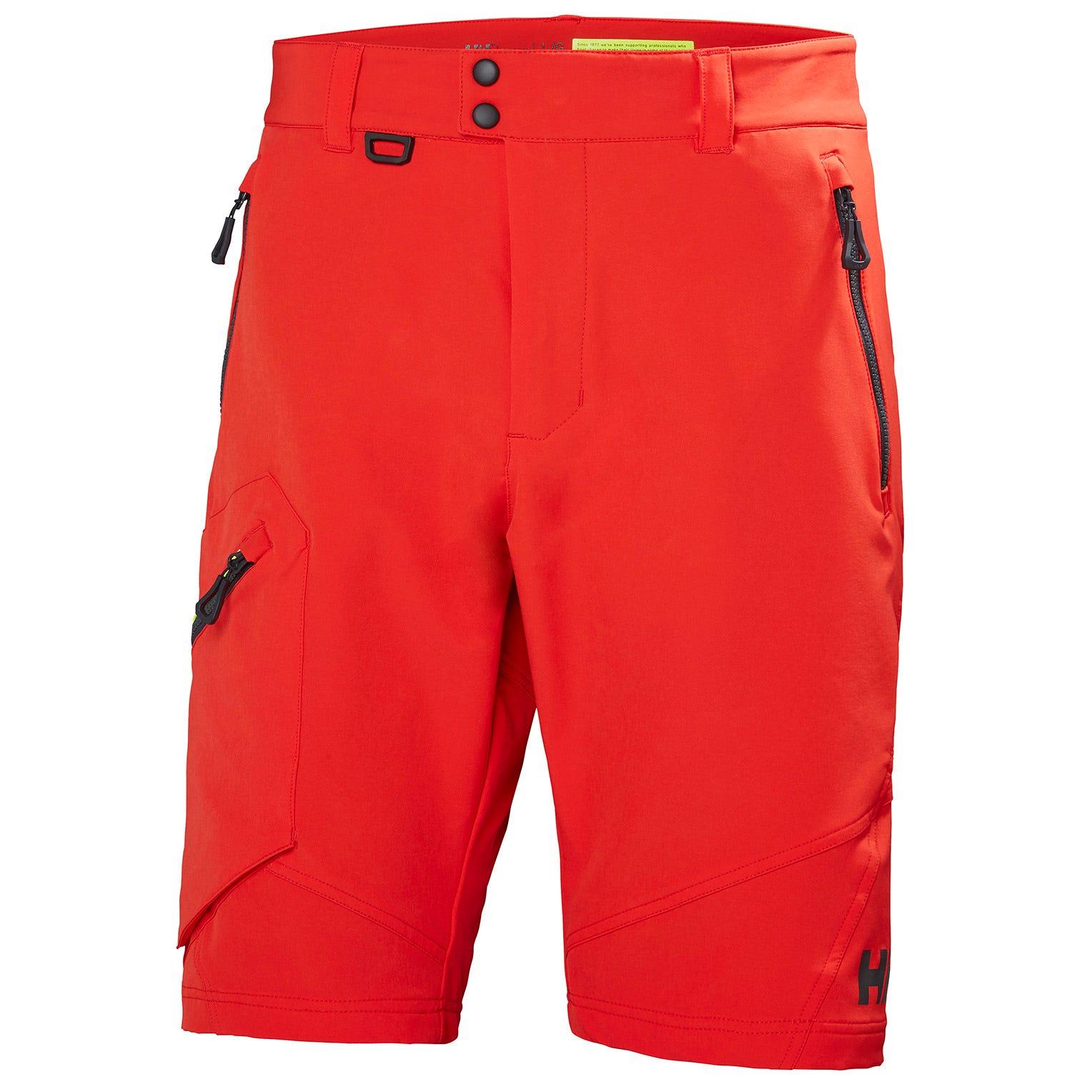 Helly Hansen Hp Softshell Shorts Mens Sailing Pant Red L