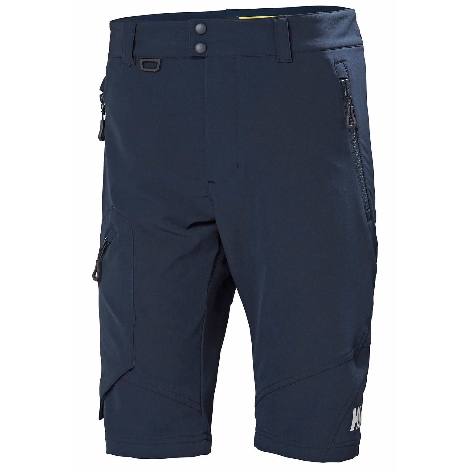 Helly Hansen Hp Softshell Shorts Mens Sailing Pant Navy L