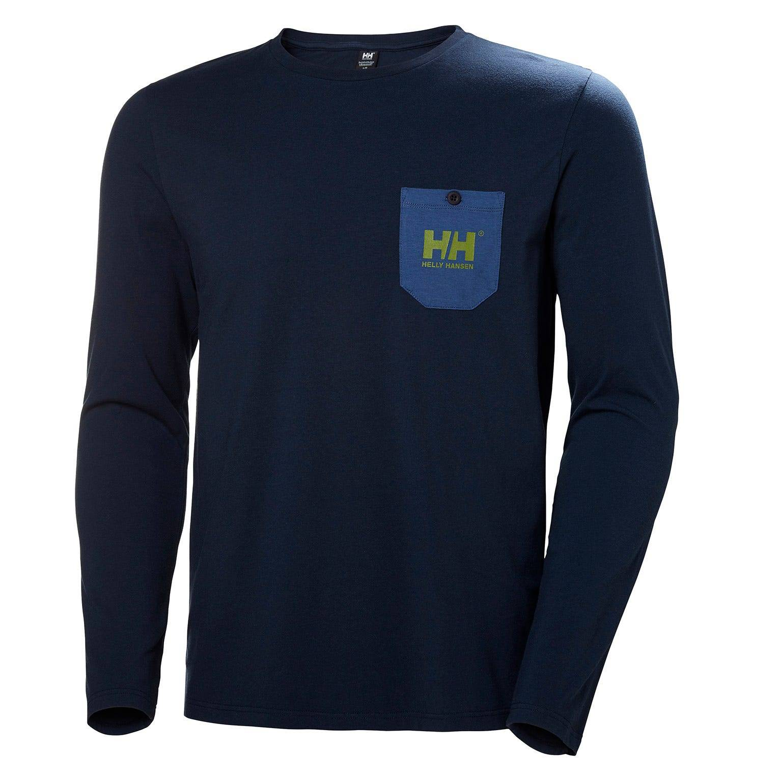 Helly Hansen Fjord Long Sleeve Mens Navy XXL