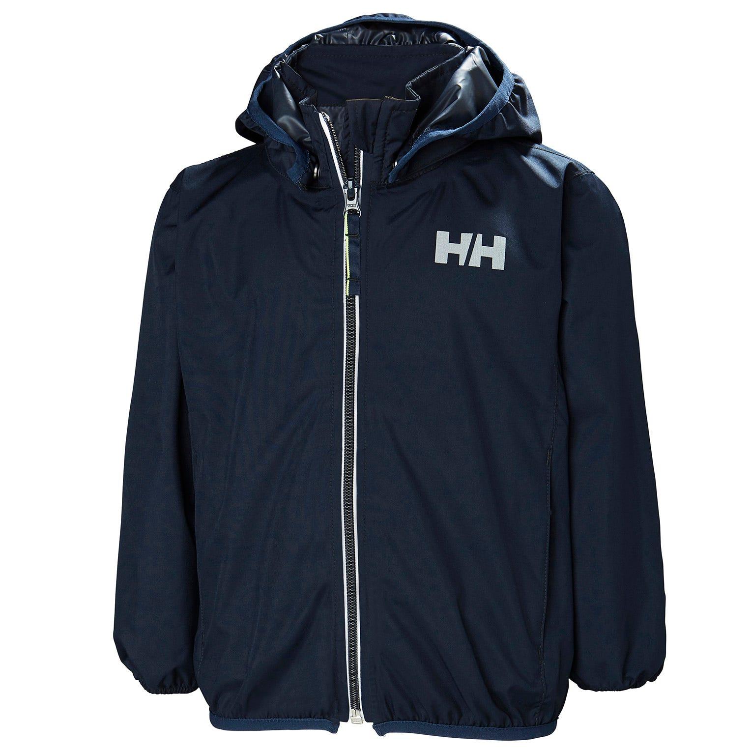 Helly Hansen Kids Helium Packable Jacket Parka Navy 134/9