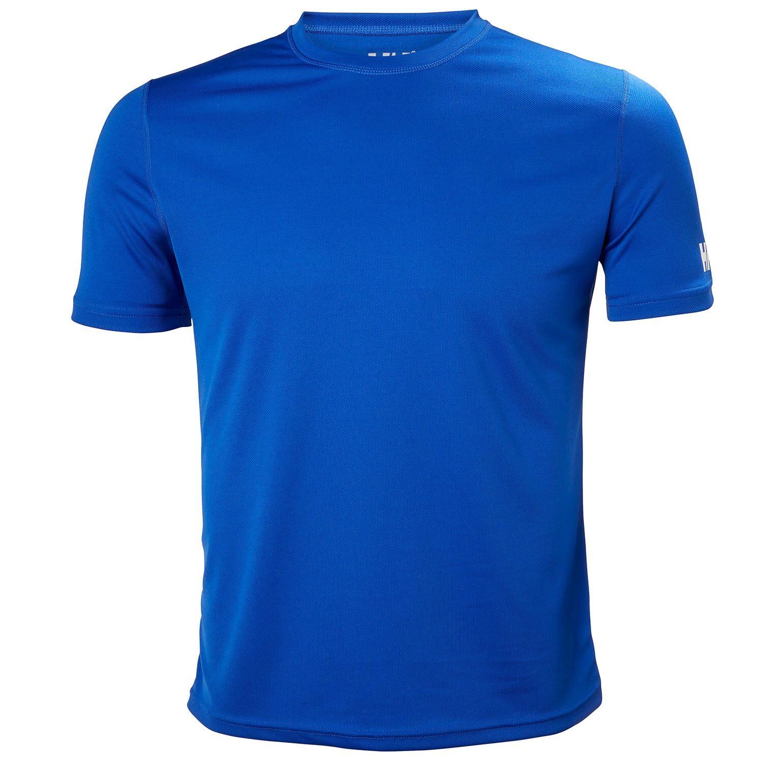 Helly Hansen Tech Tshirt Mens Baselayer Blue XXL