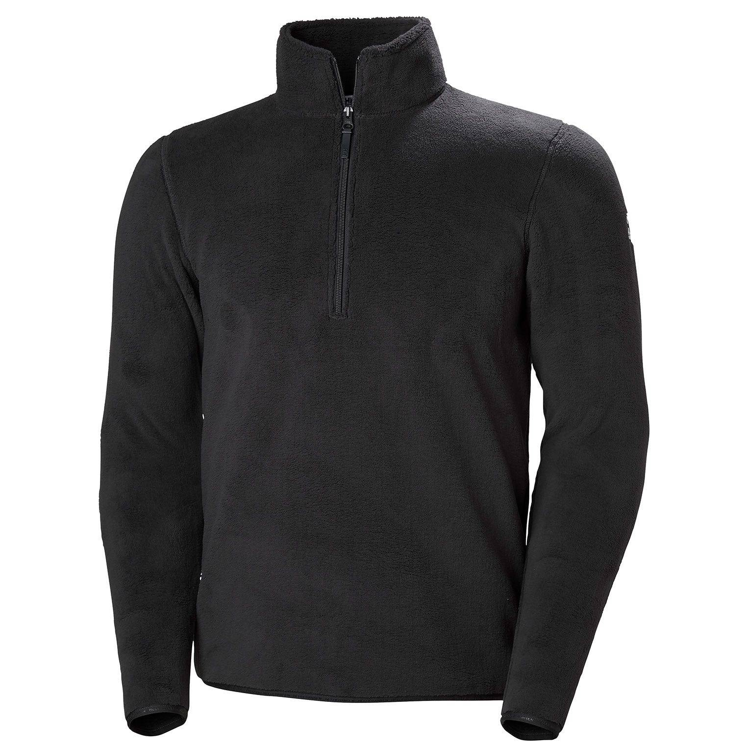 Helly Hansen Feather Pile 3/4 Zip Mens Fleece Black M