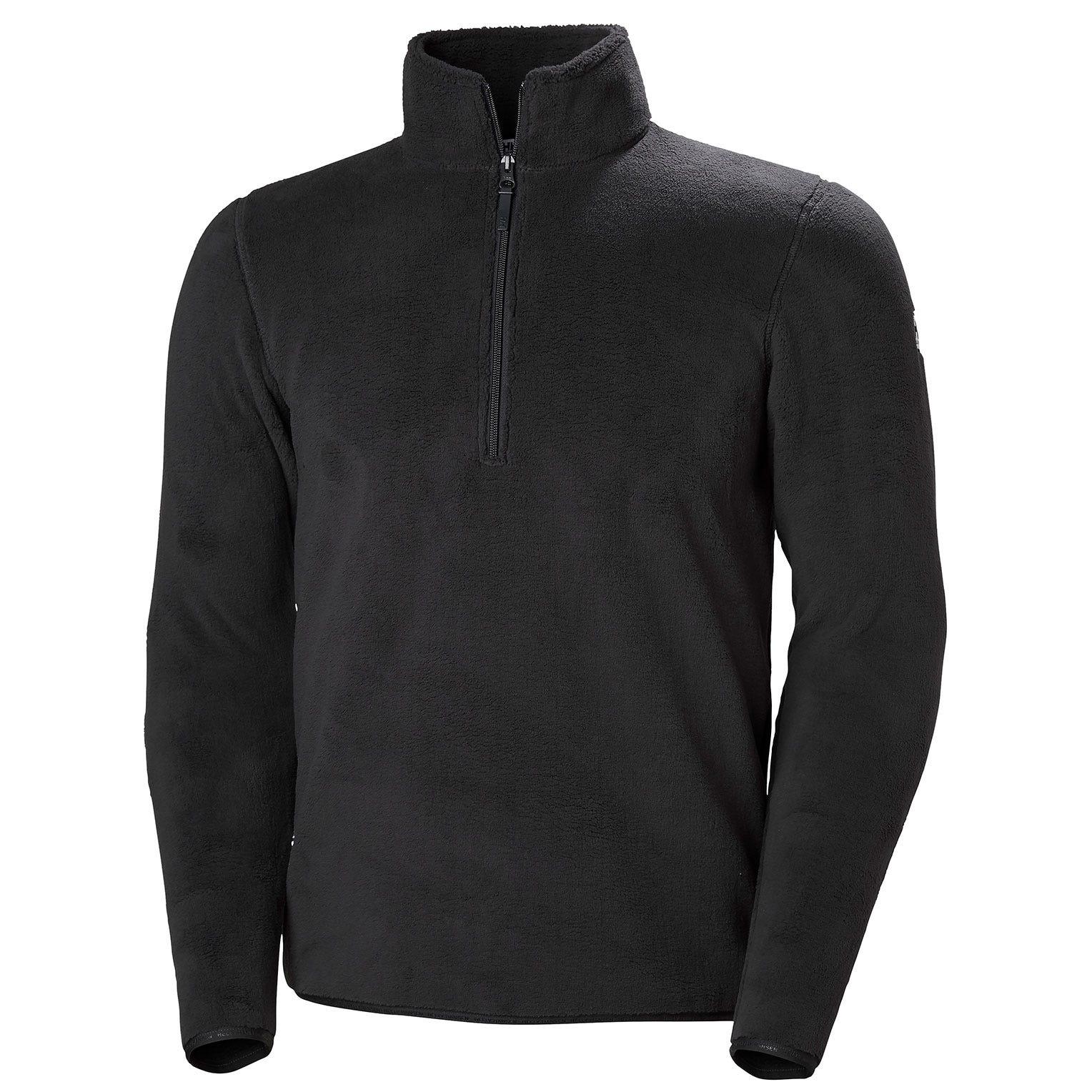 Helly Hansen Feather Pile 3/4 Zip Mens Fleece Black S