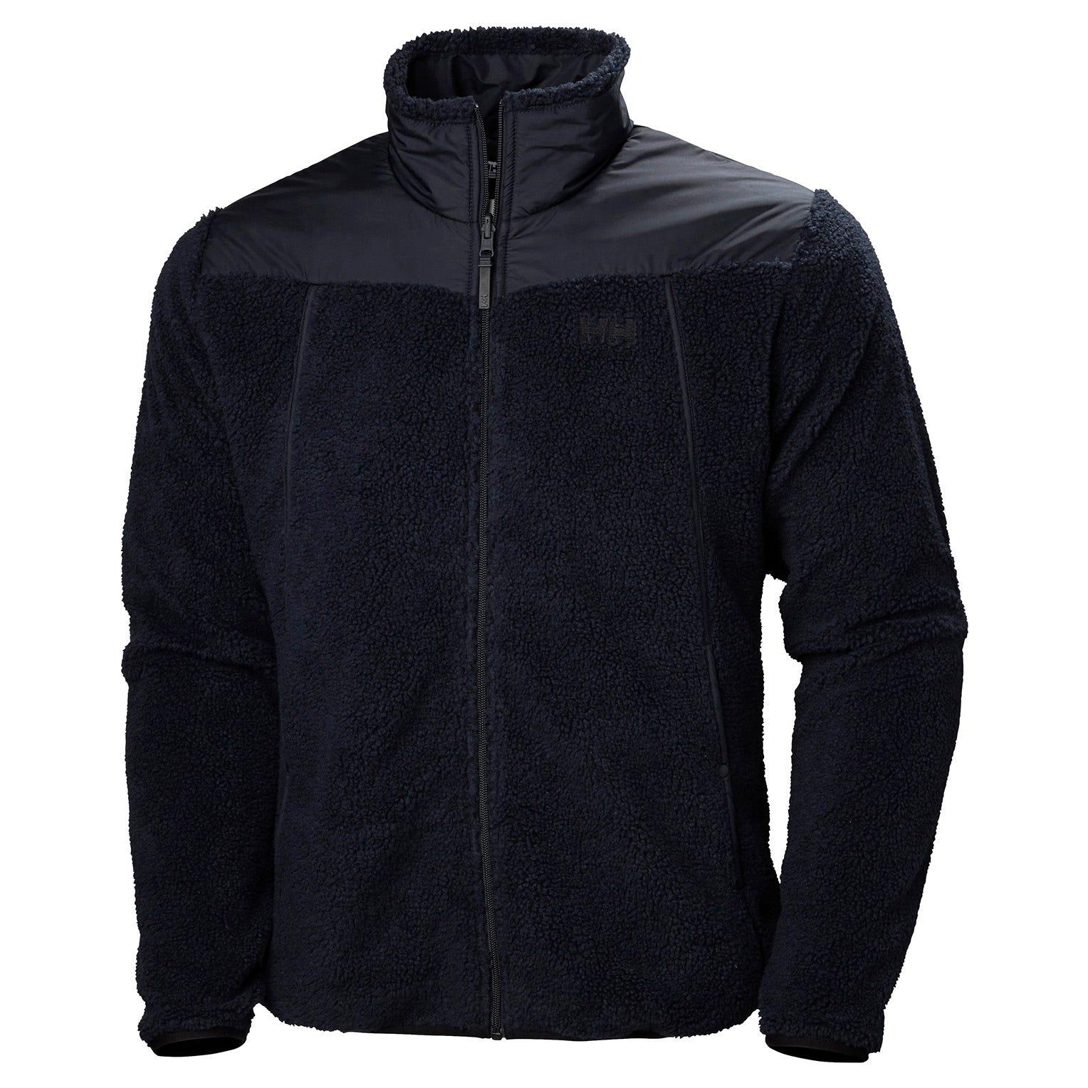 Helly Hansen Oslo Reversible Pile Jacket Mens Fleece Navy XXL