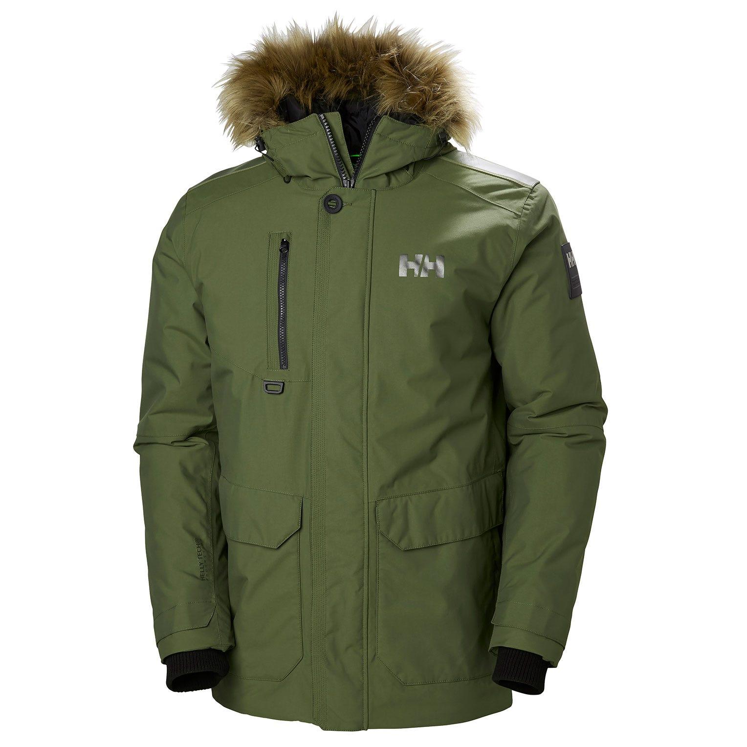 Helly Hansen Svalbard Parka Mens Green XL